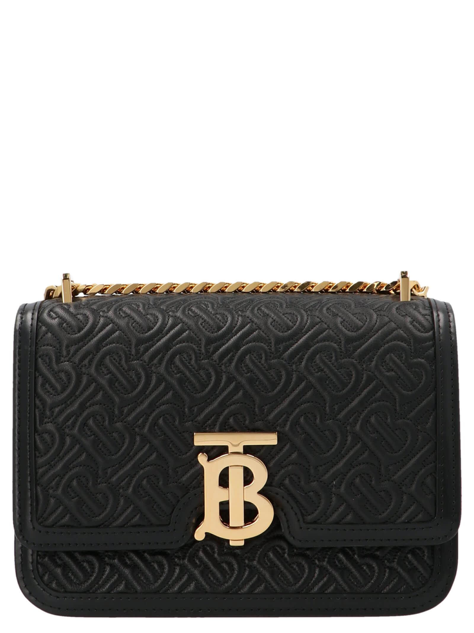 Burberry Tb Bag Bag In Black