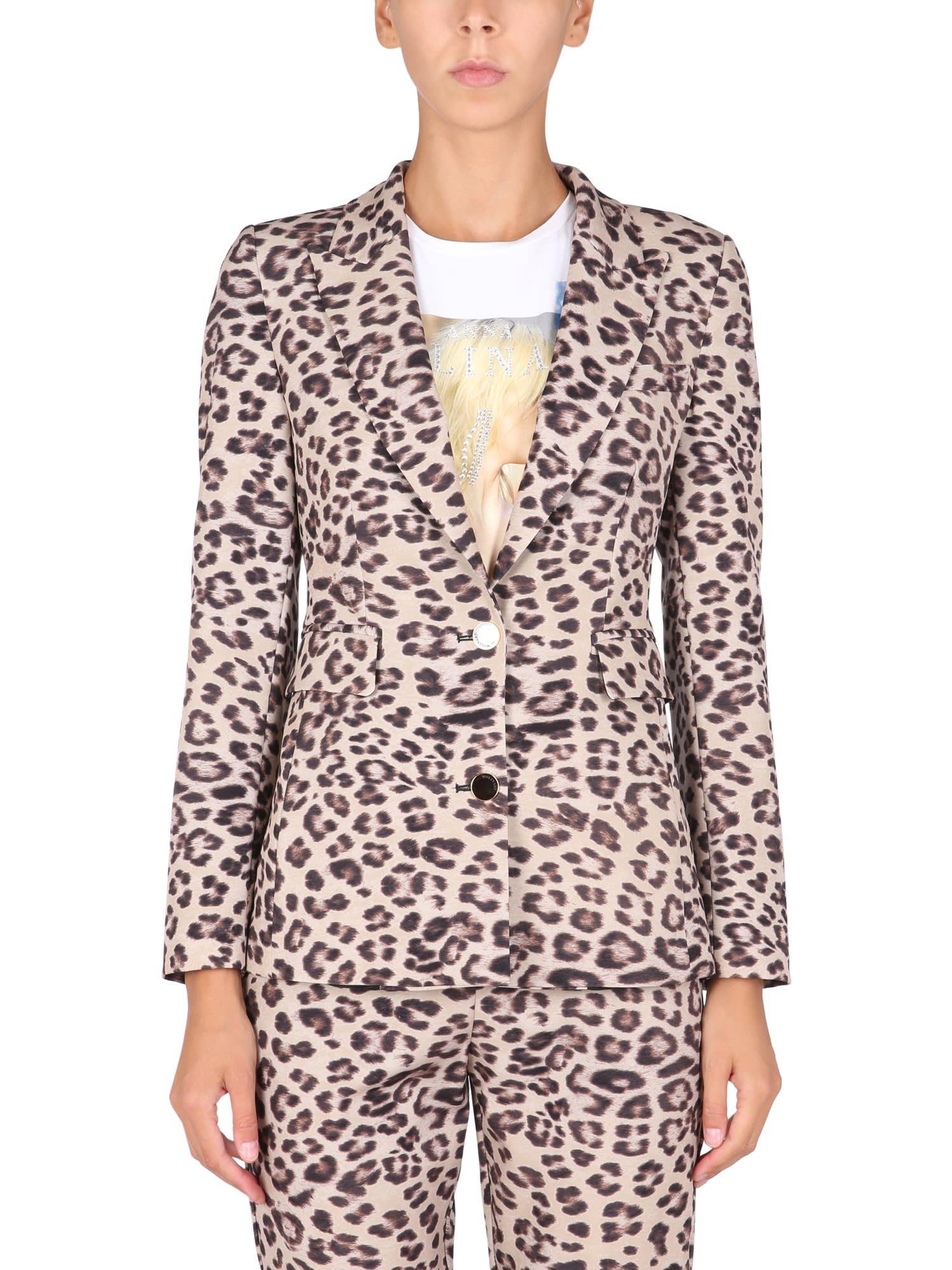 Jacket With Animal Motif