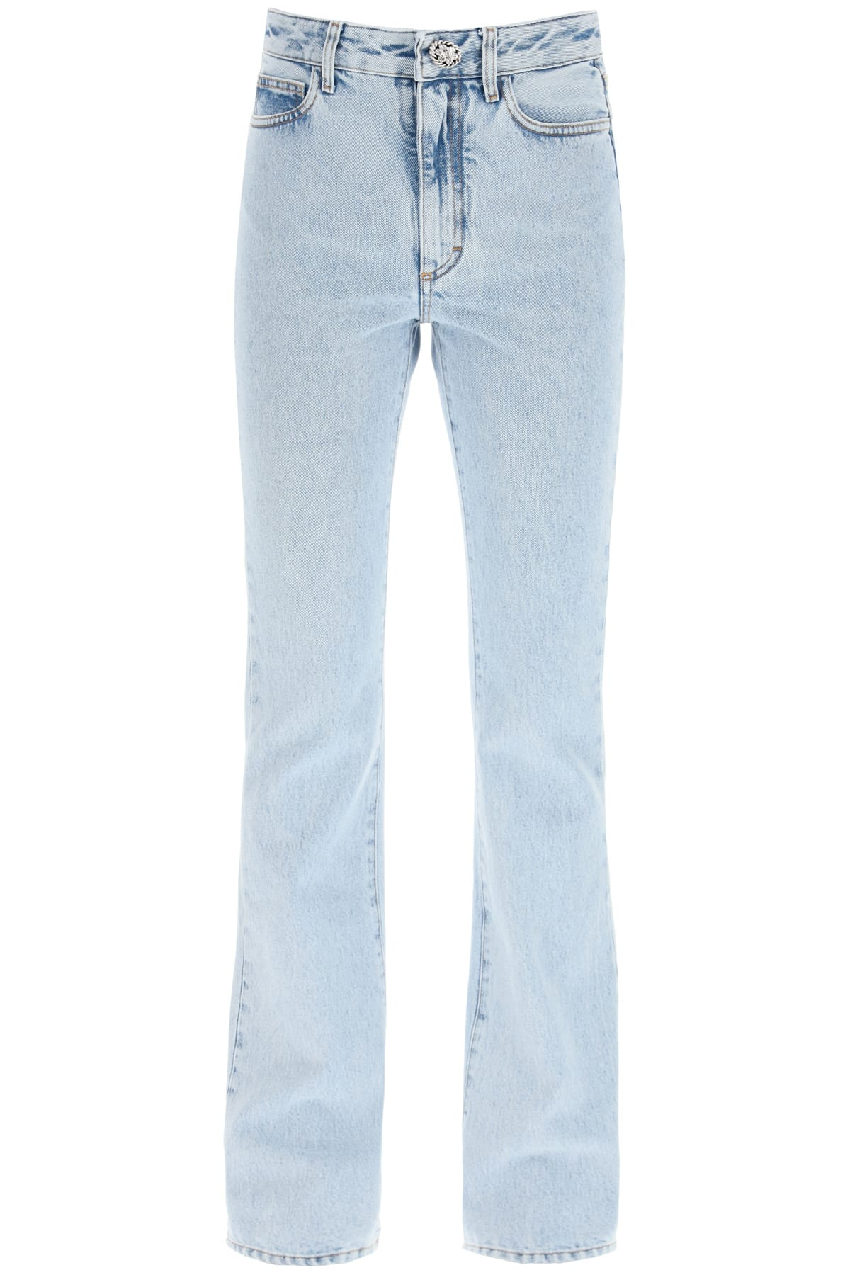 Alessandra Rich HIGH WAIST FLARE JEANS