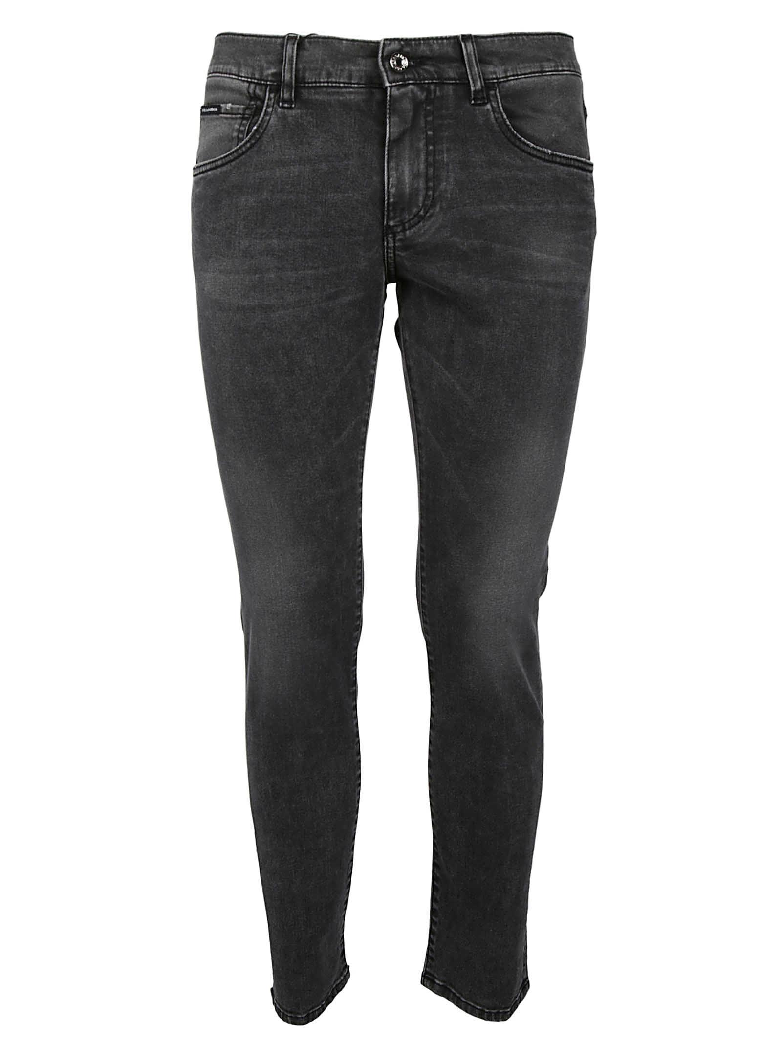 Dolce & Gabbana Stonewashed Jeans