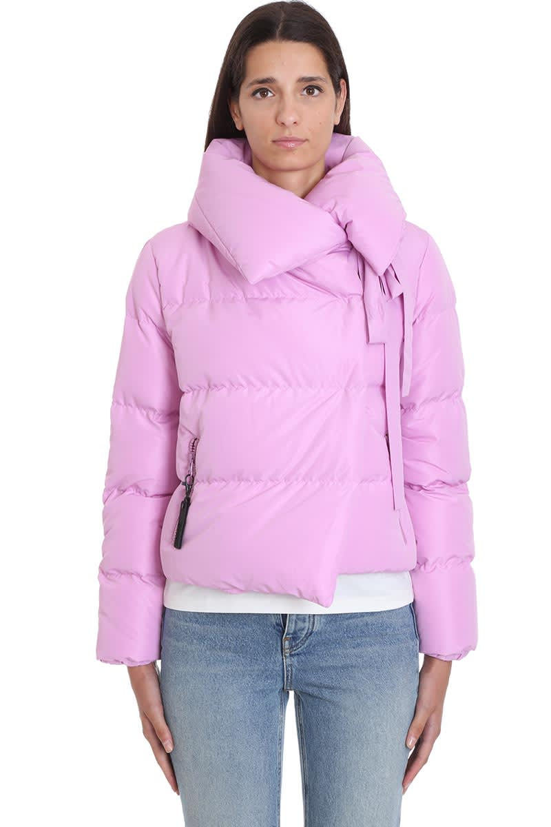 Bacon Puffa Clothing In Rose-pink Polyester