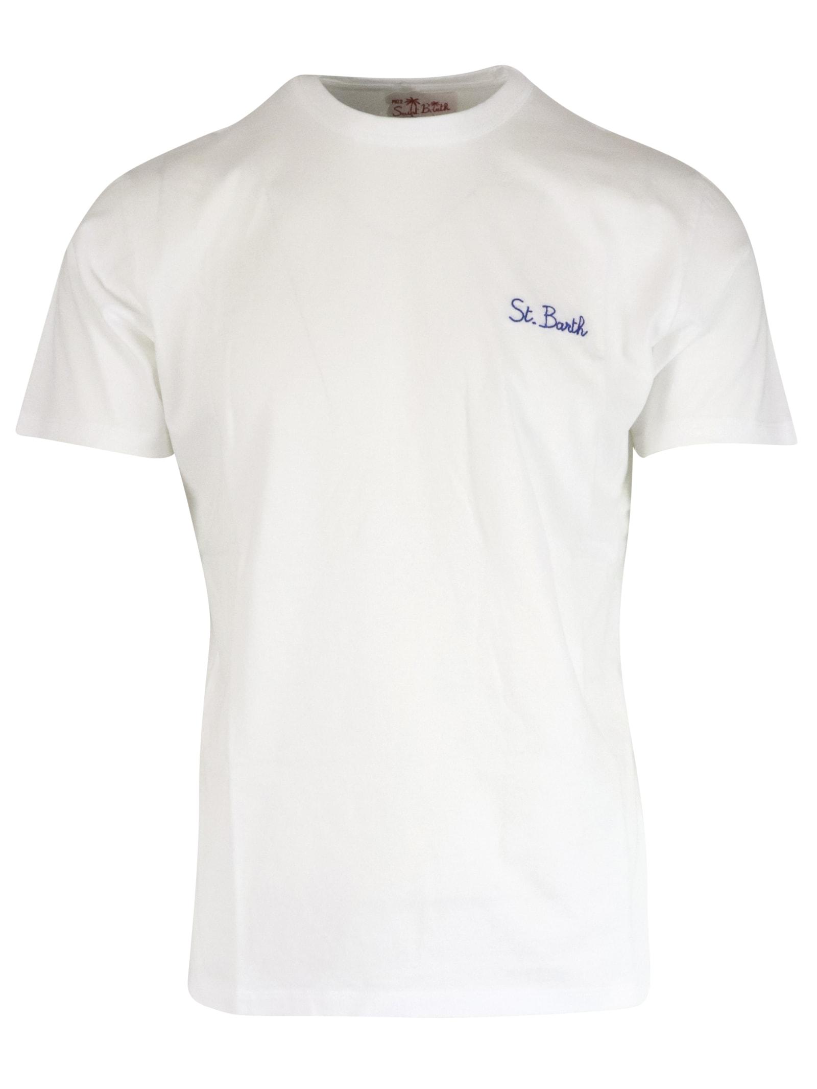 MC2 Saint Barth T Shirt Garment Dyed T-shirt