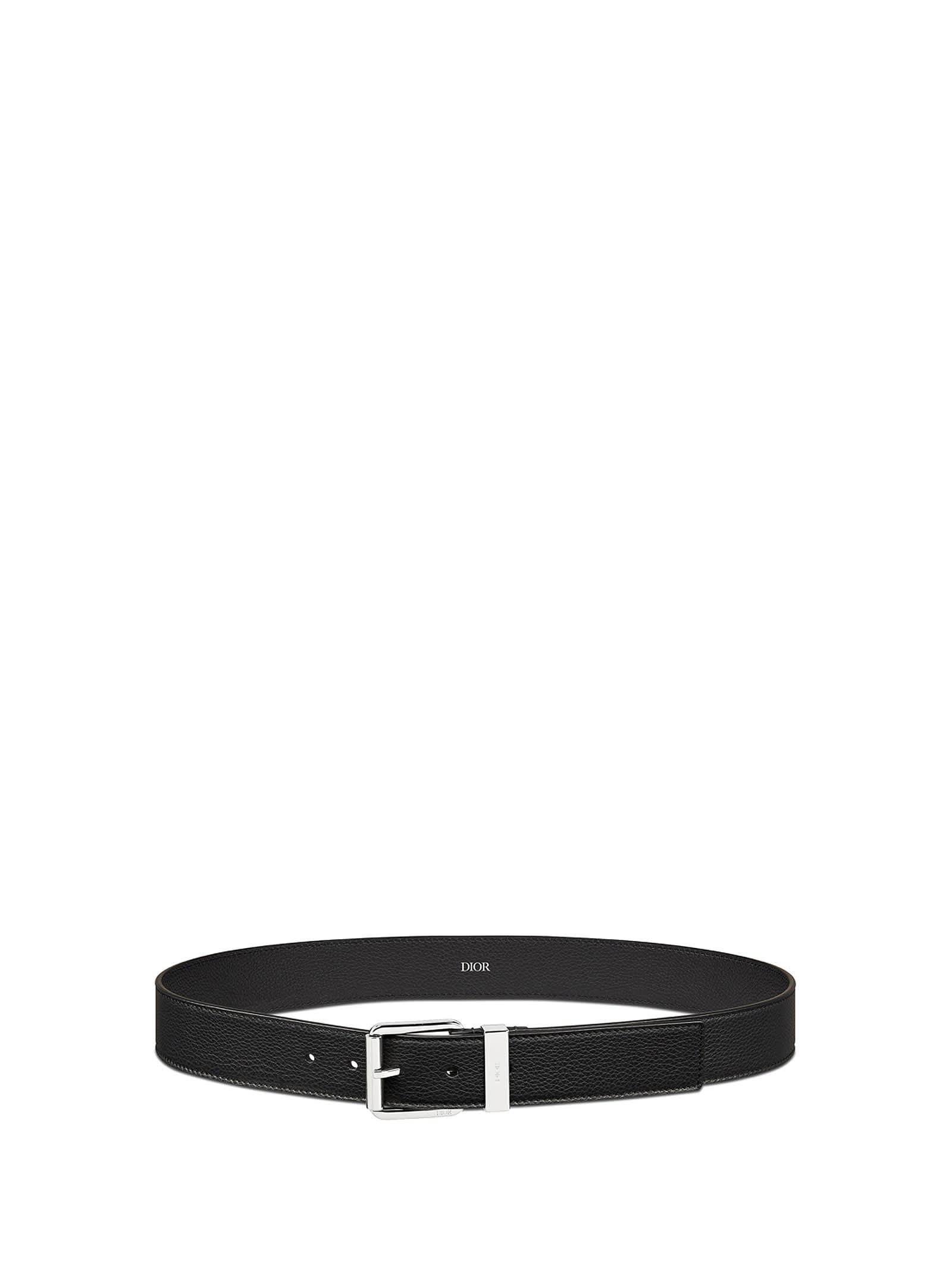 Belt In Black Leather