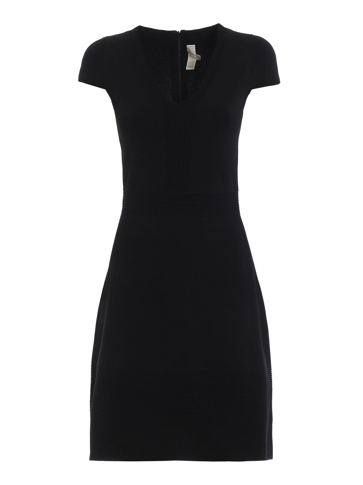 Michael Kors V-neck Midi Dress