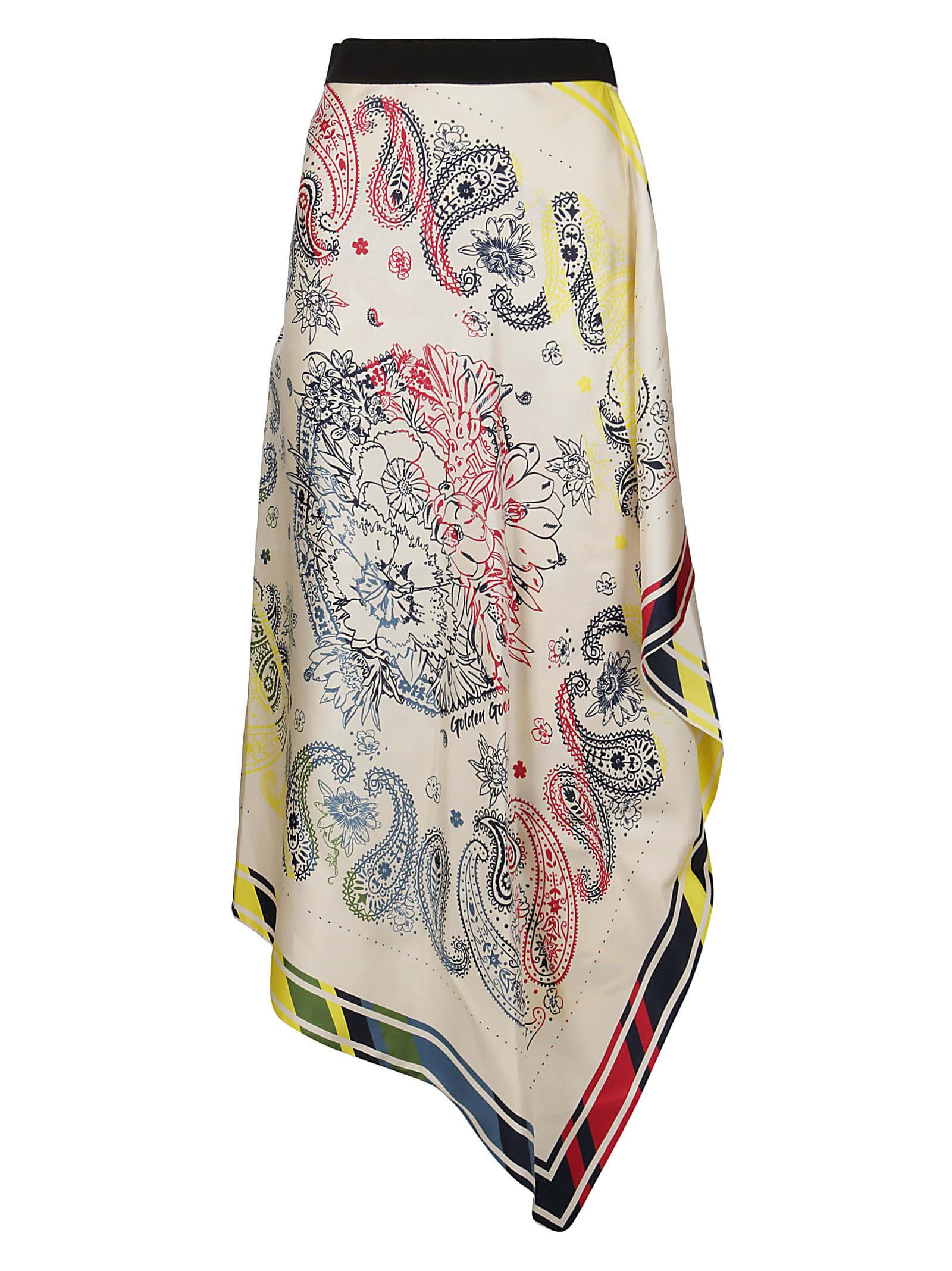 Golden Goose Asymmetric Hem Skirt