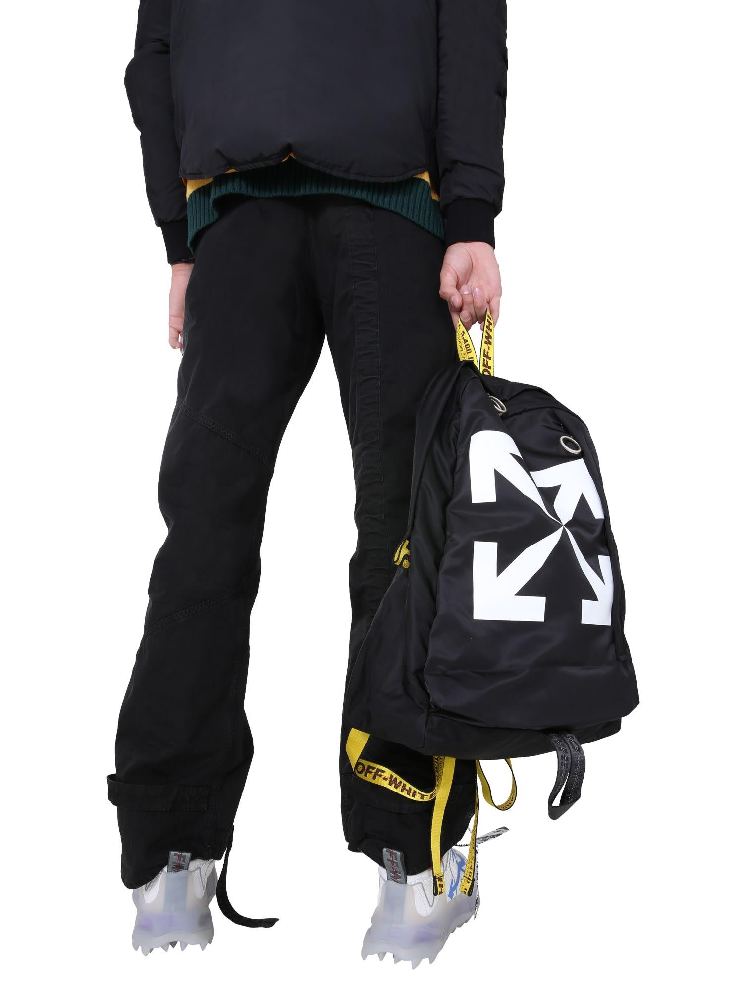 Off-White Nylon Backpack