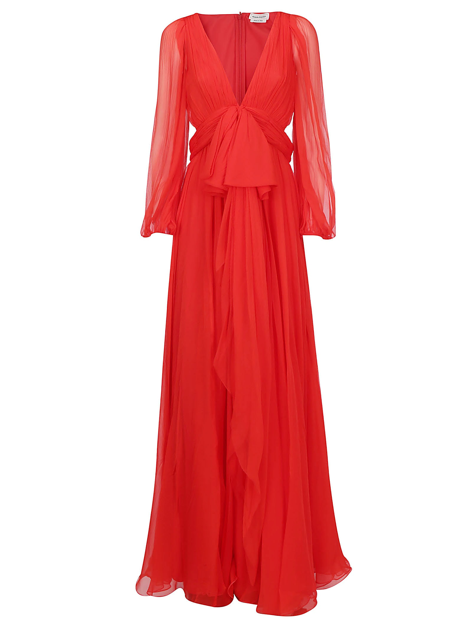 Buy Alexander Mcqueen Maxi Dress online, shop Alexander McQueen with free shipping
