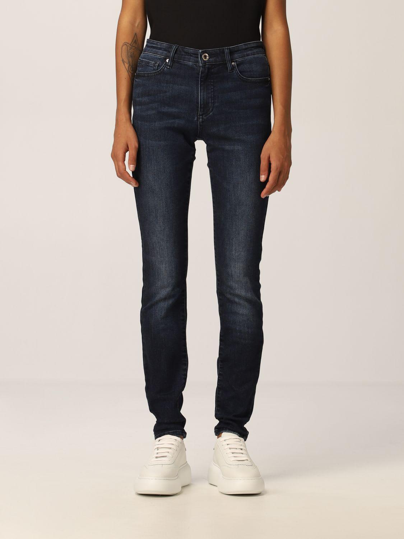 Armani Exchange Jeans Mid-rise Super Skinny Stretch Used Denim