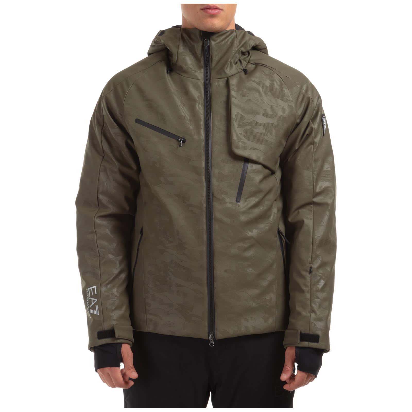 Emporio Armani Ea7 Textum 7 Ski Jackets