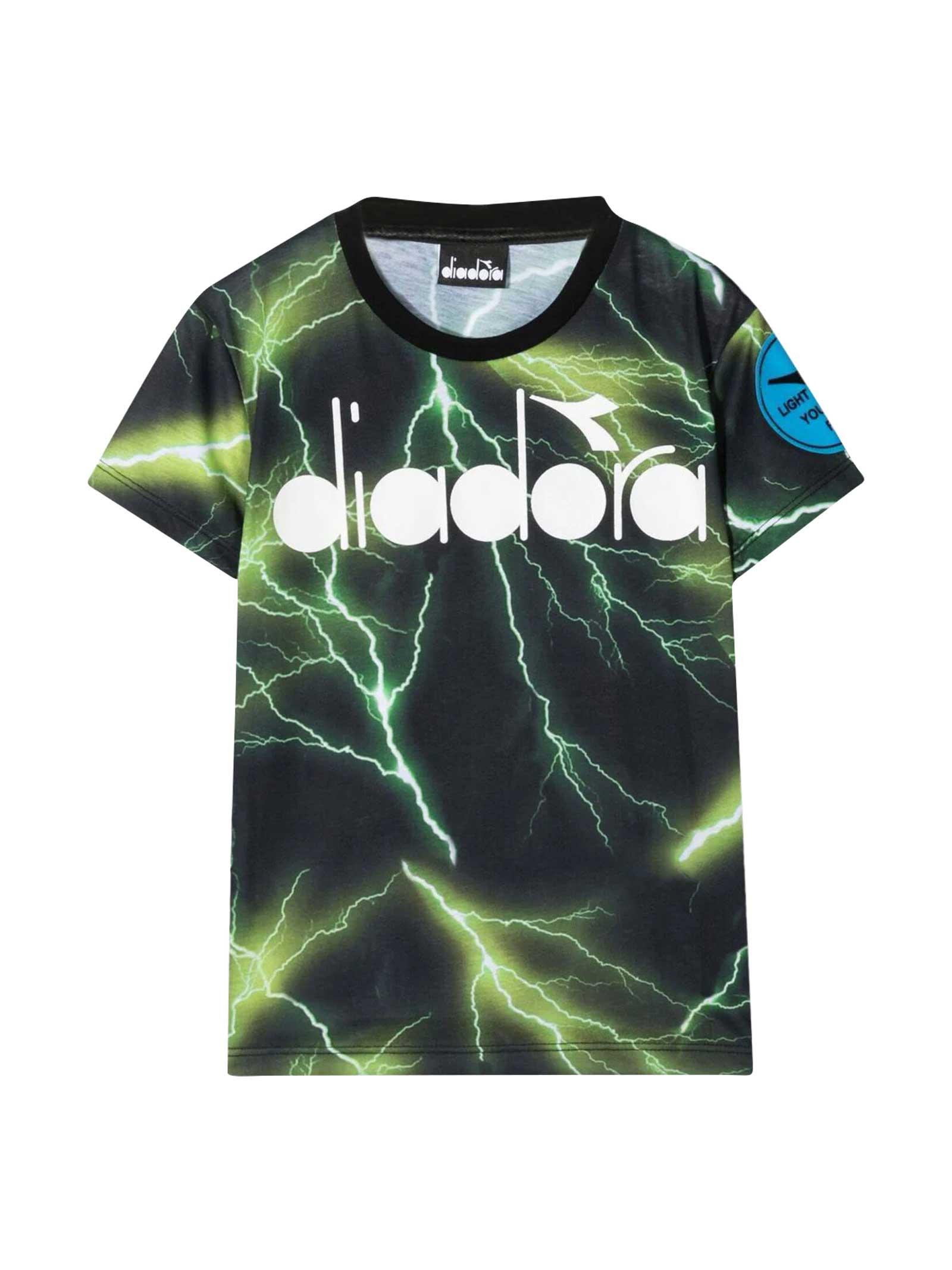 Diadora Diadora Kids Green T-shirt