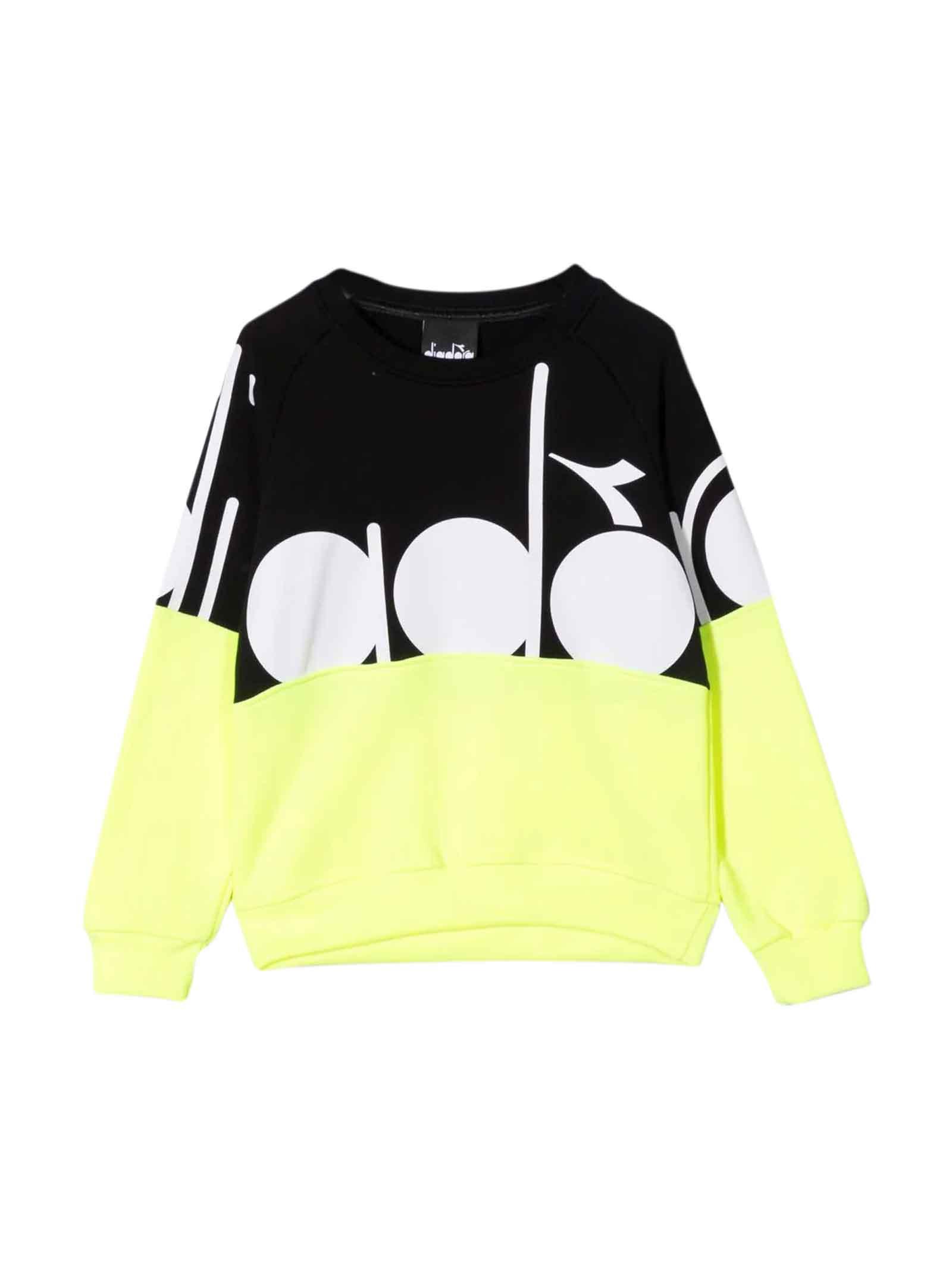 Boys Two-tone Sweatshirt