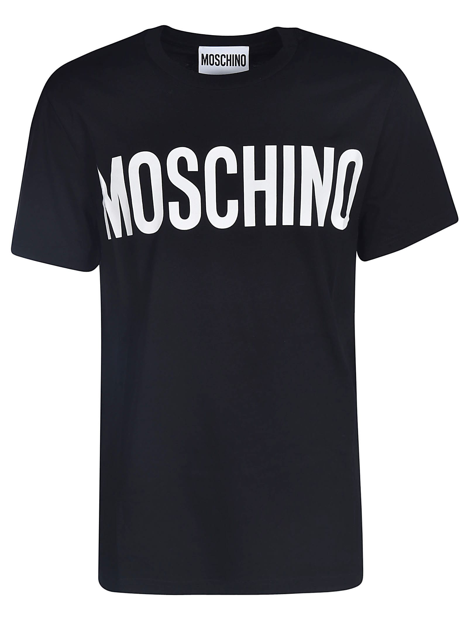 Classic Logo Print T-shirt from MoschinoComposition: 100% Cotton