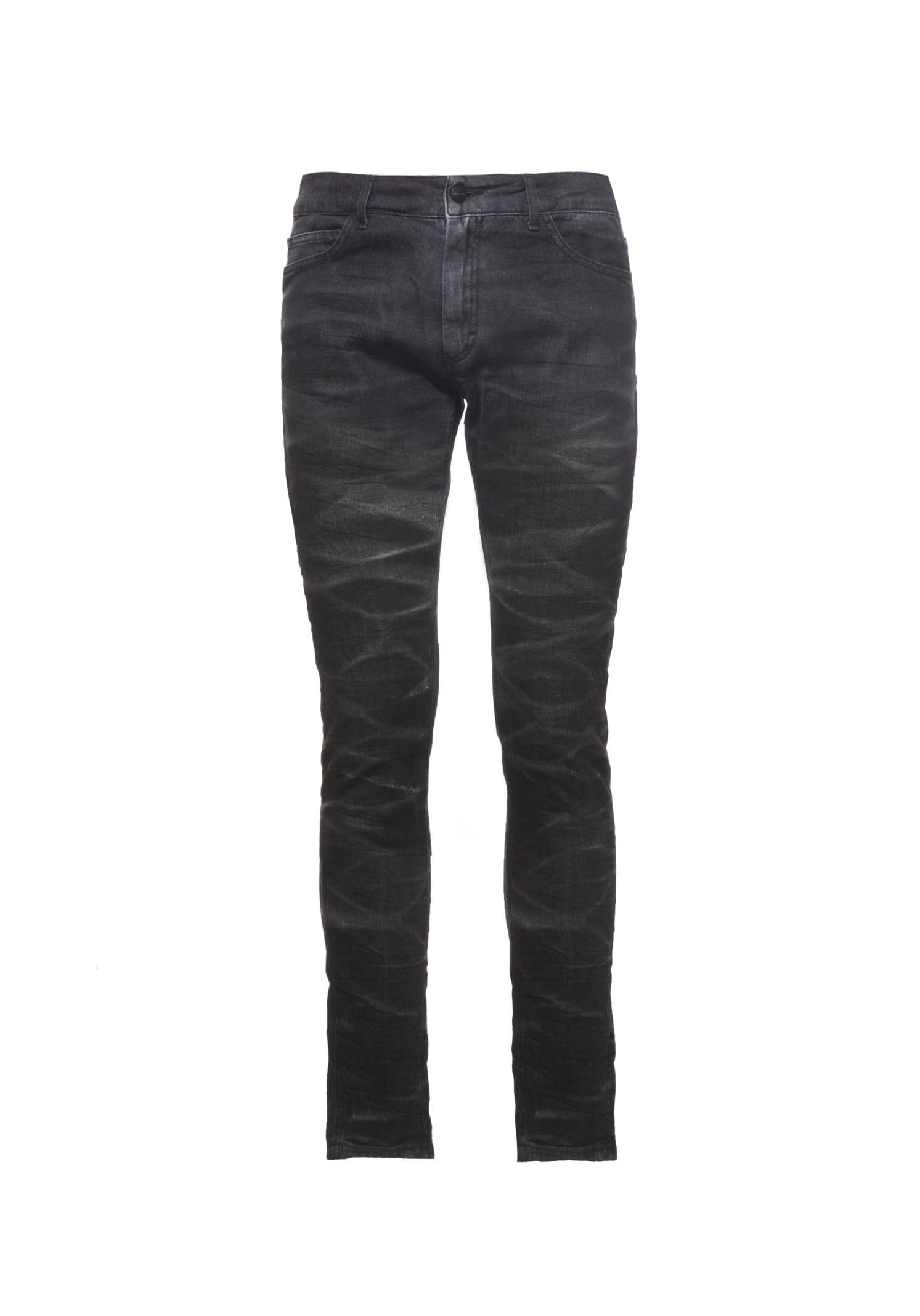 Jeans Denim Marble Black