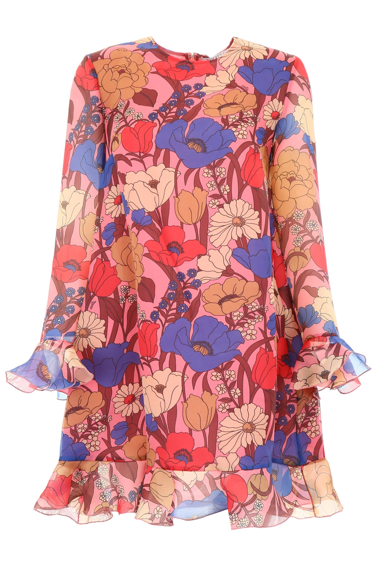 Vivetta Organza Ducker Dress