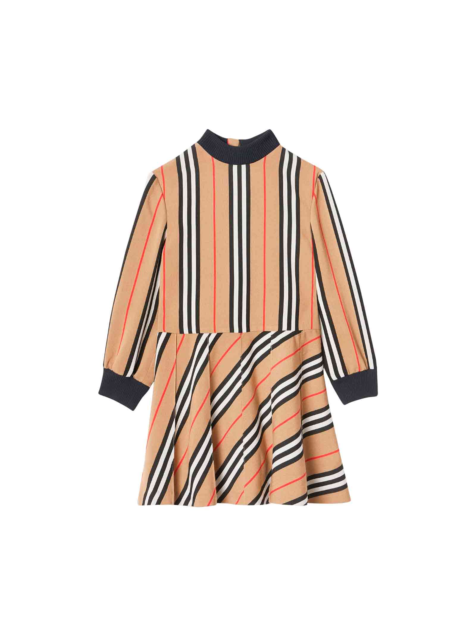 Buy Burberry Camel Dress online, shop Burberry with free shipping