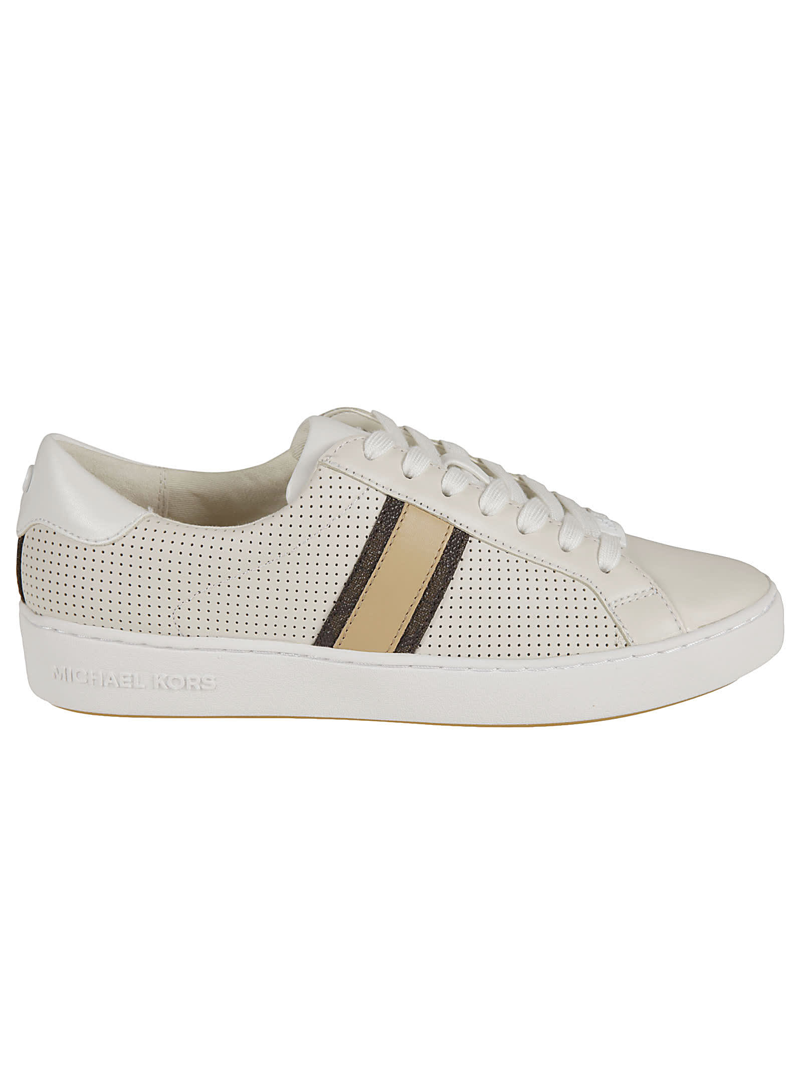Michael Kors IRVING STRIPE LACE-UP SNEAKERS
