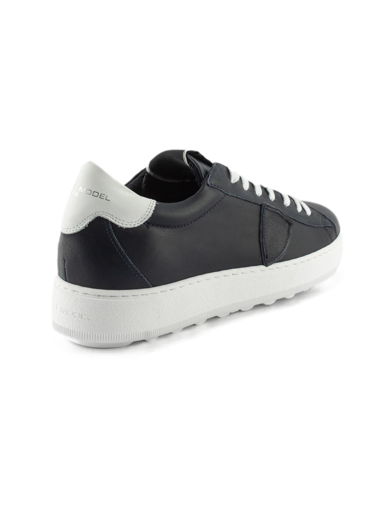 Philippe Model Sneaker Madeleine Blue Leather vnm8OyN0wP