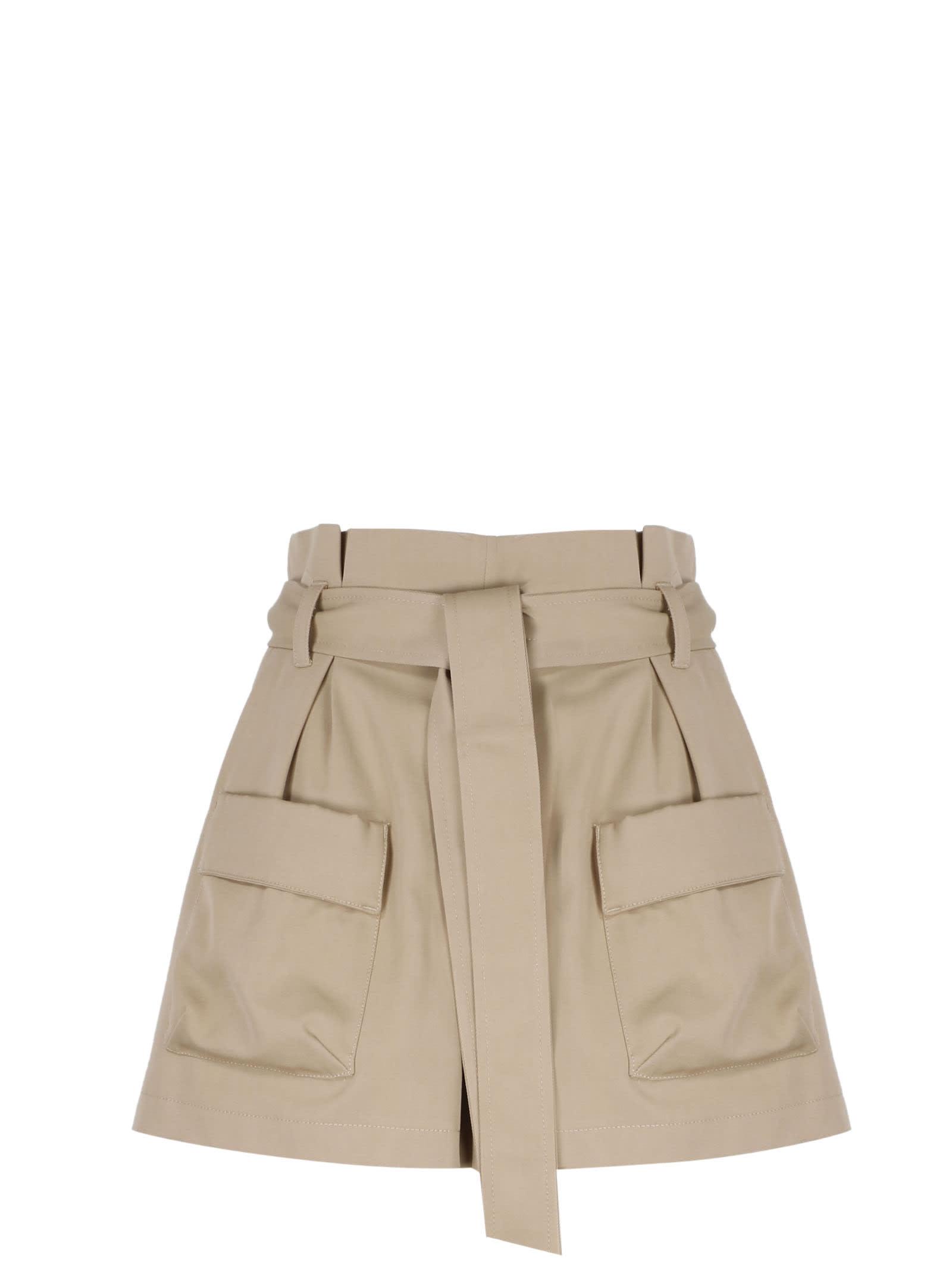 Red Valentino Shorts HIGH WAIST CARGO SHORTS