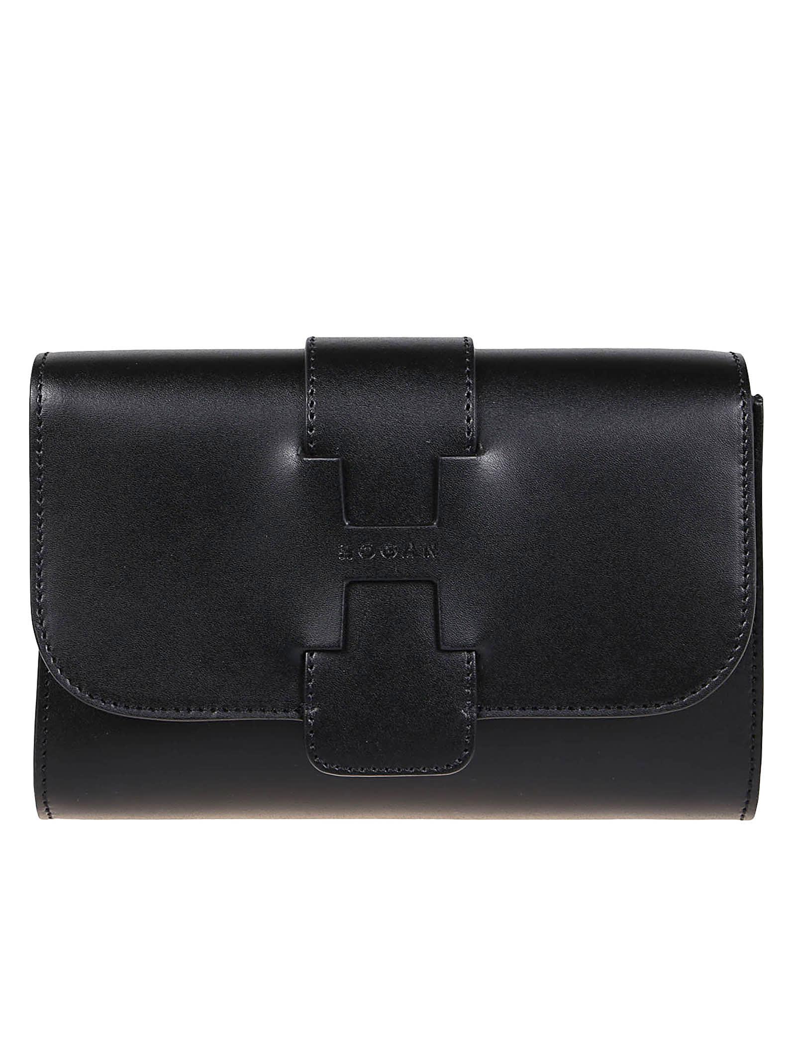 Hogan Black Leather Bag