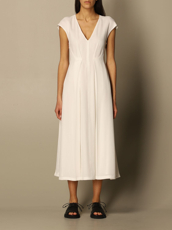 Buy Sportmax Dress Enrico Sportmax Jersey Dress online, shop SportMax with free shipping