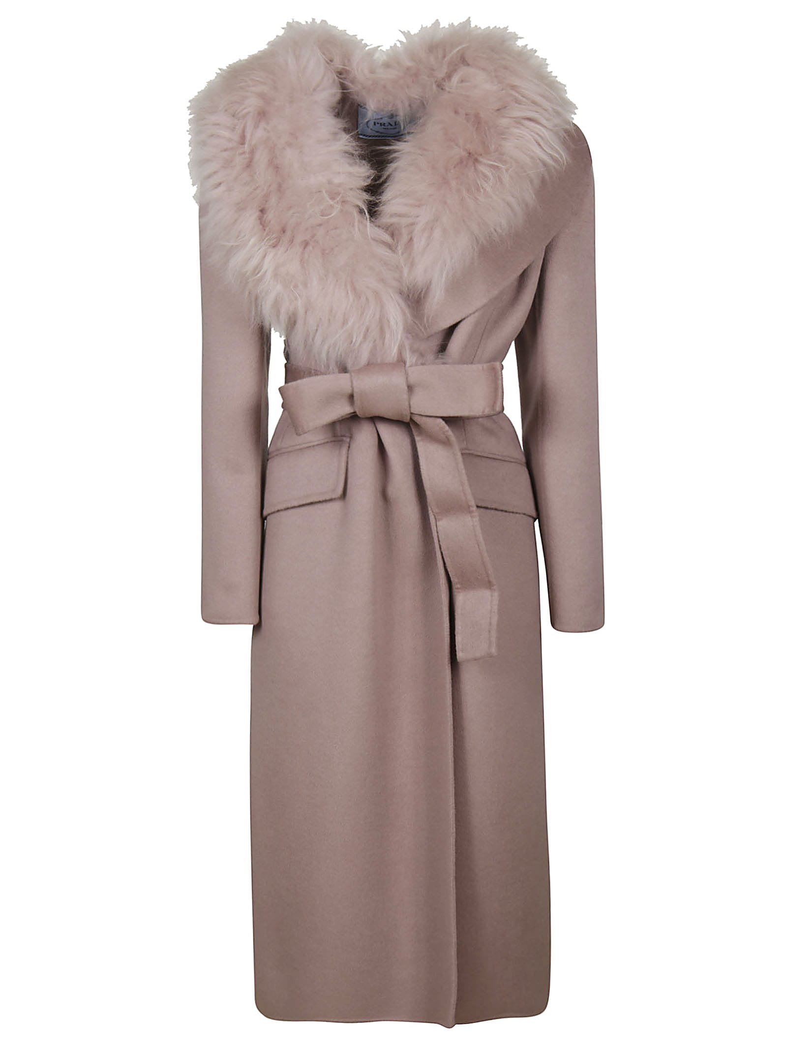 Prada Cashgora Long Coat