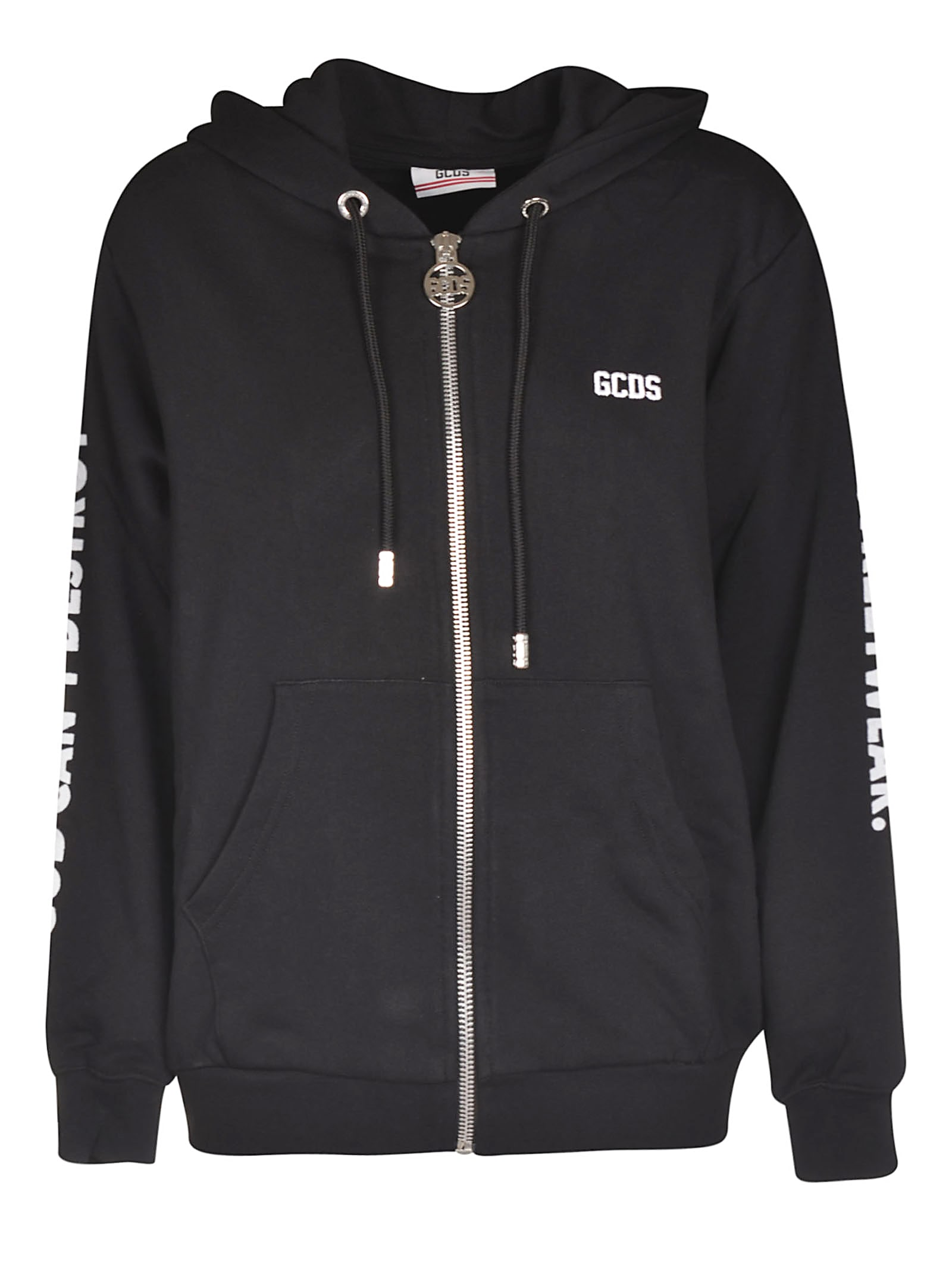 GCDS Hooded Zipped Jacket