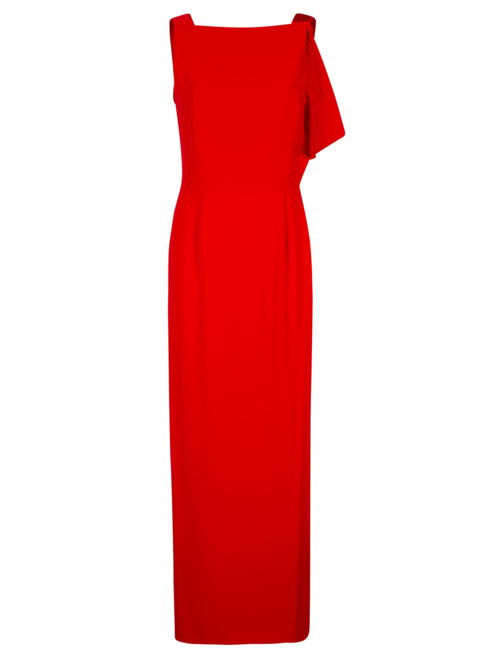 Buy Emporio Armani V-back Sleeveless Maxi Dress online, shop Emporio Armani with free shipping