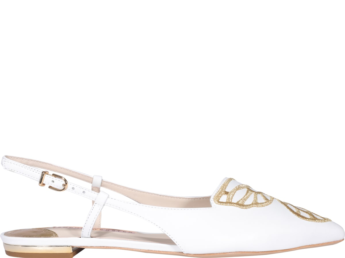 Sophia Webster Shoes BUTTERFLY EMBROIDERY SLINGBACK