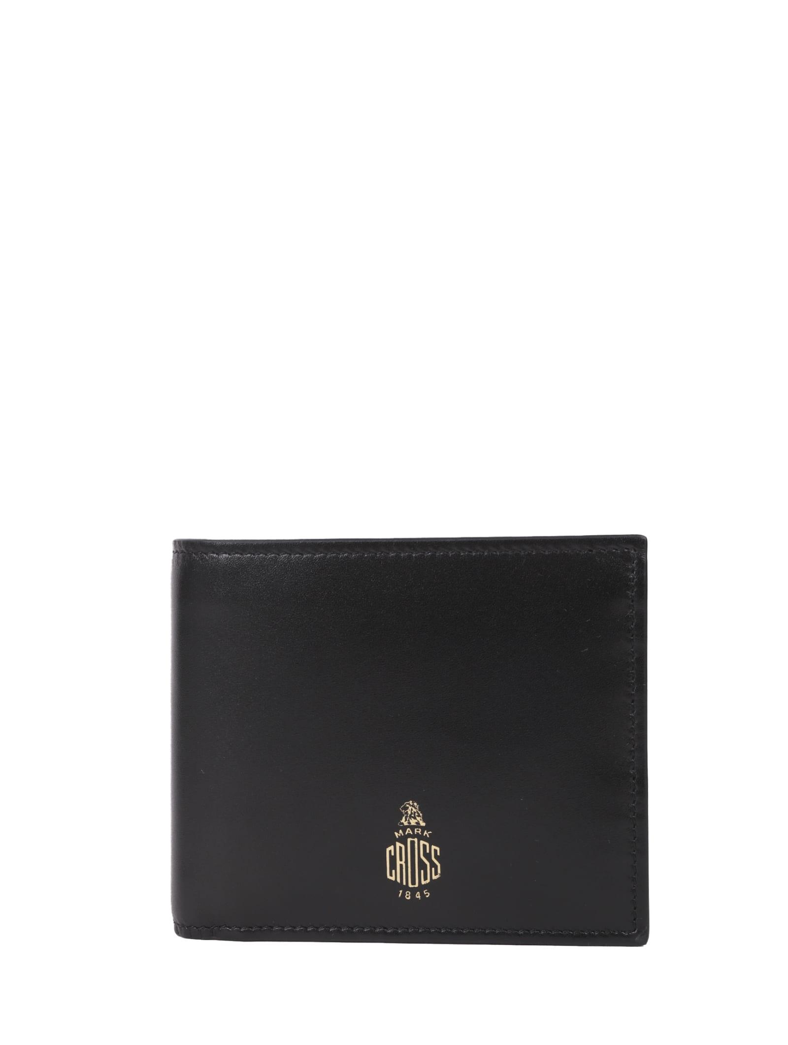 Mark Cross Black Wallet
