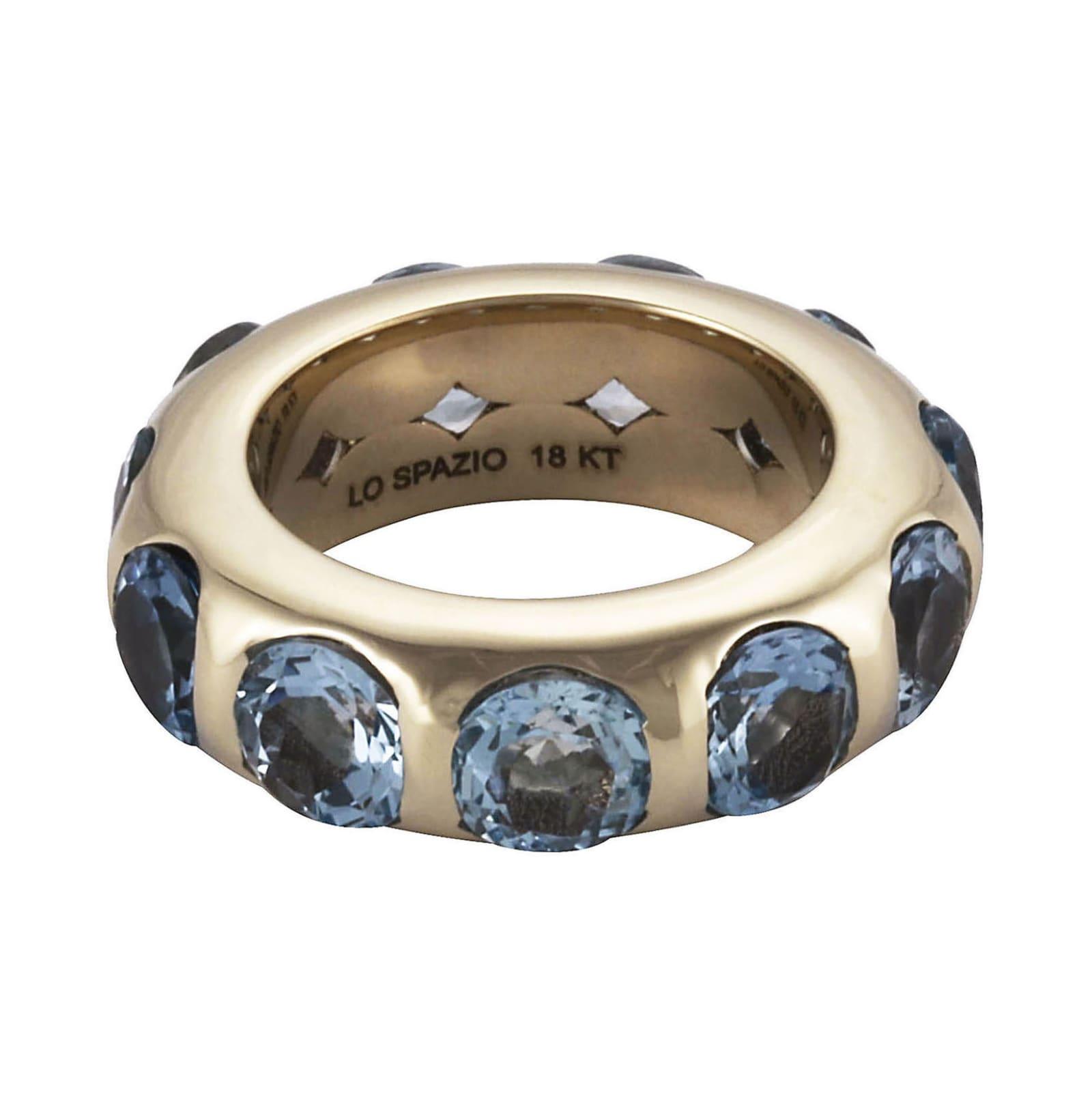 Lo Spazio Aquamarina Ring