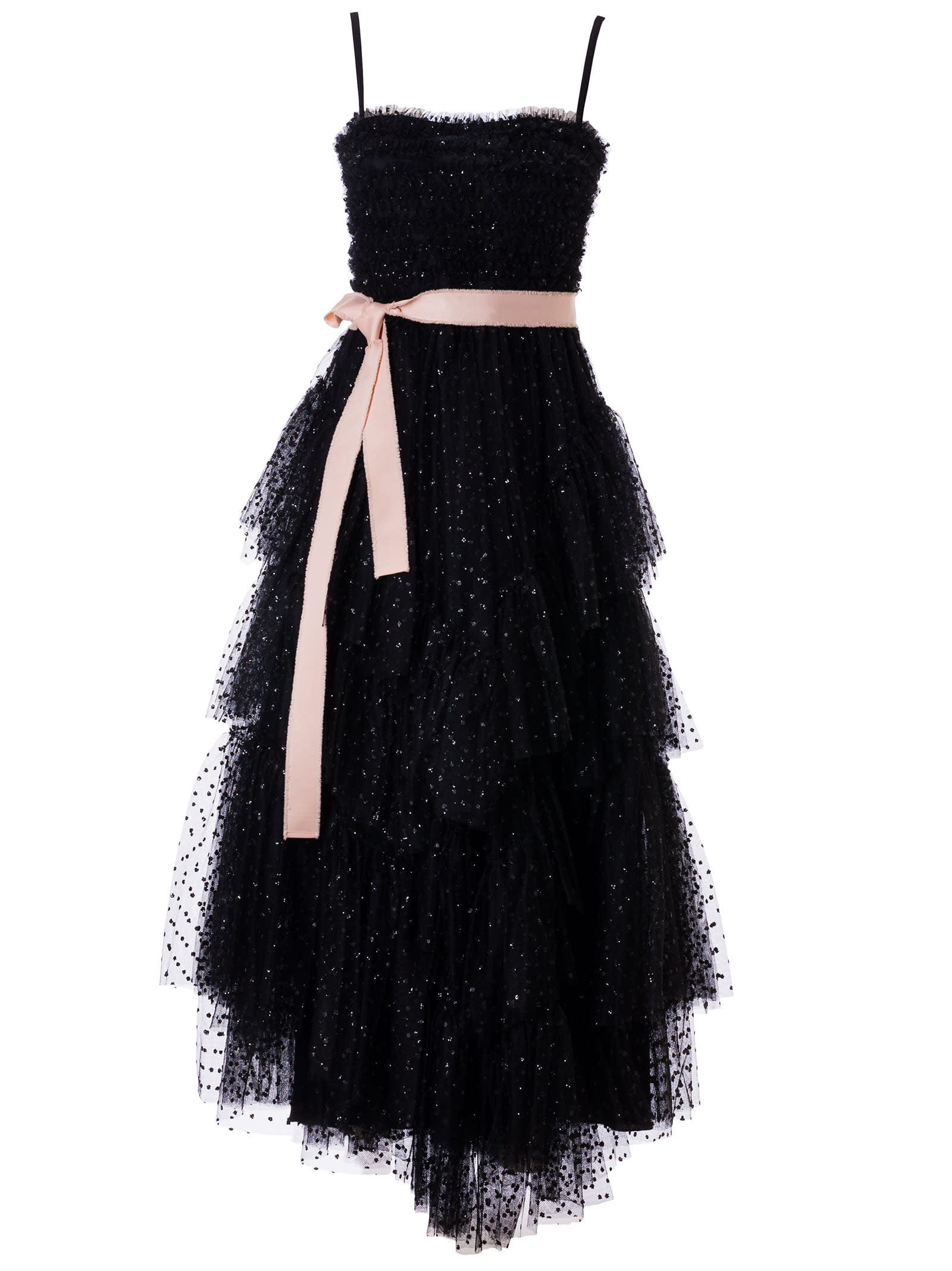 Buy RED Valentino Asymmetric Lace Dress online, shop RED Valentino with free shipping