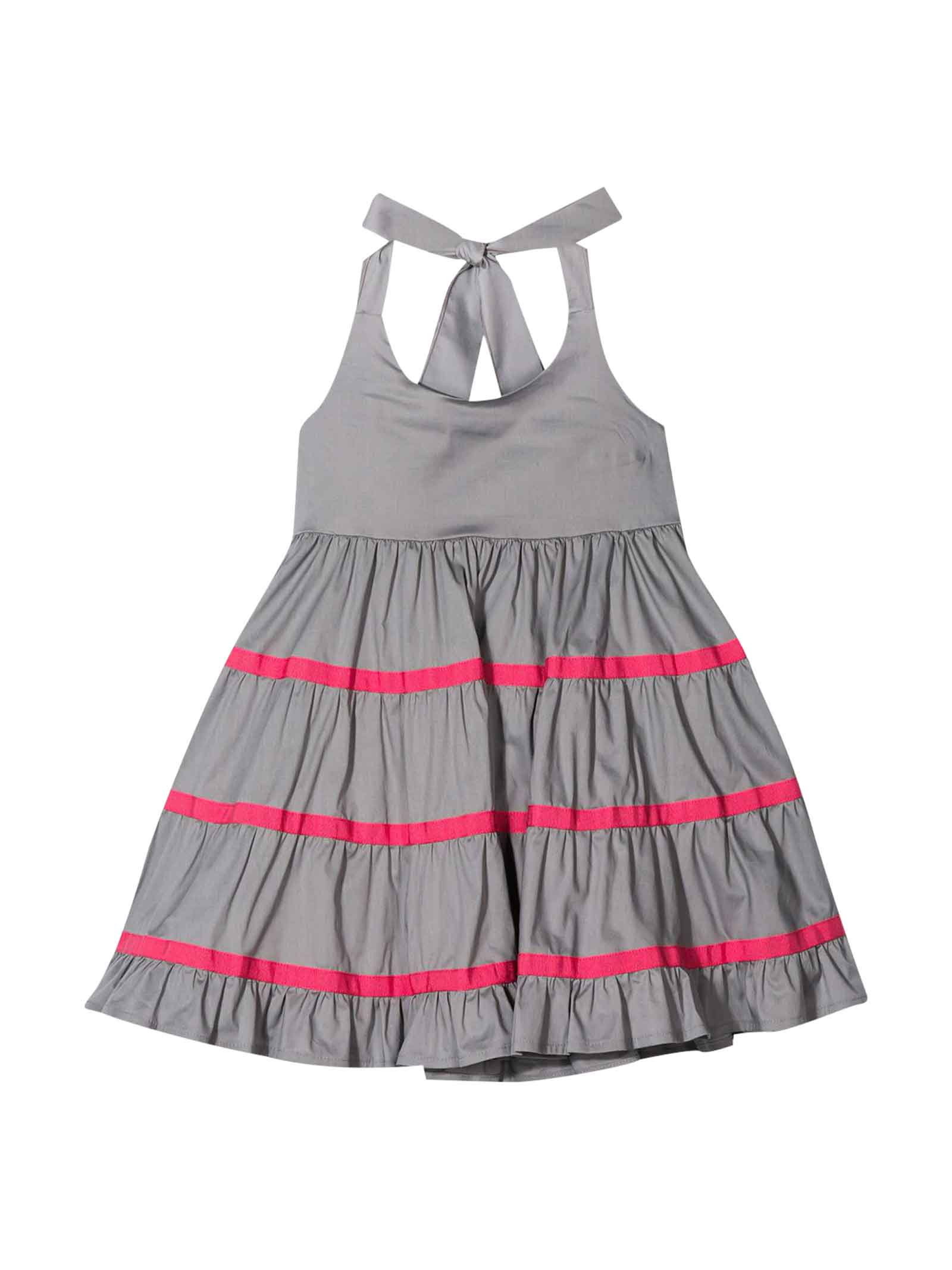 Buy Piccola Ludo Gray Dress online, shop Piccola Ludo with free shipping
