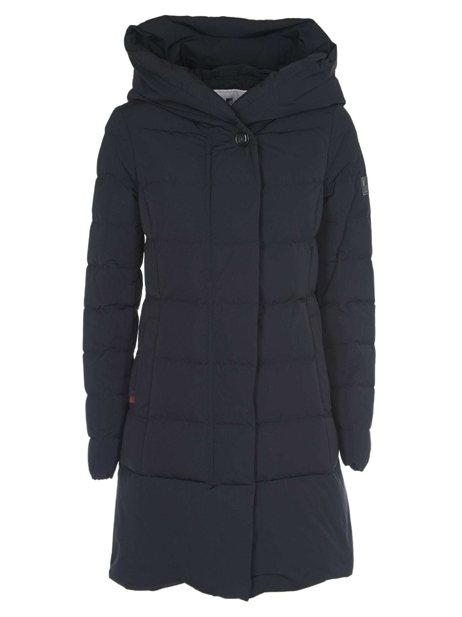 Woolrich Black Puffy Prescot Parka