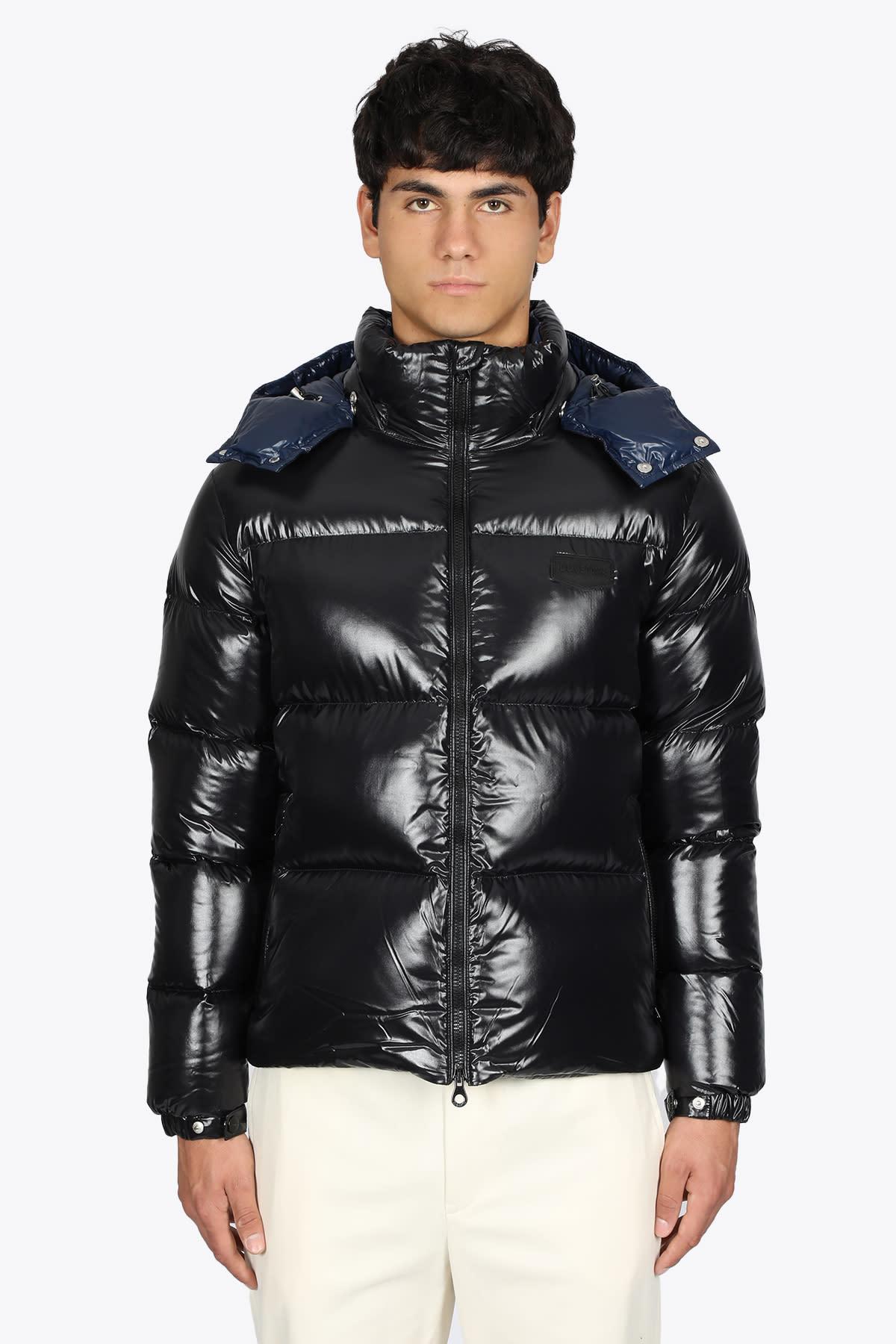 Blavk Nylon Sallo Down Jacket