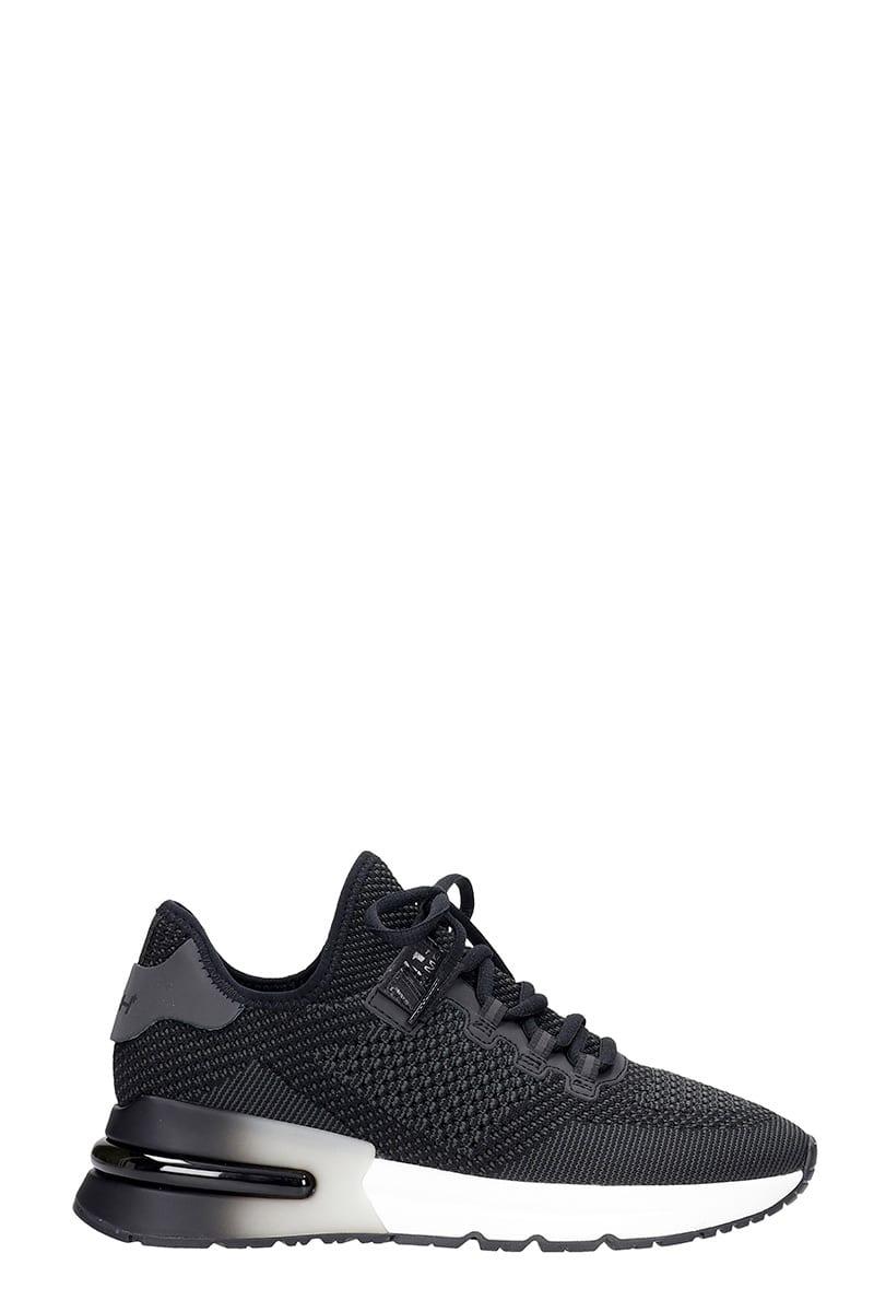 Ash Krushbis01 Sneakers In Black Synthetic Fibers
