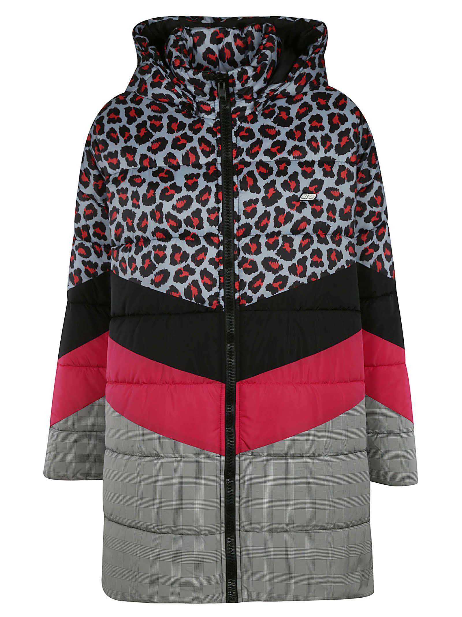 MSGM Zipped Padded Jacket