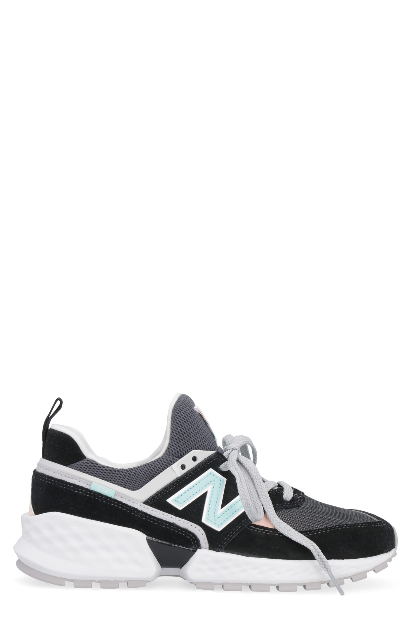the latest fdf3d 5739e New Balance 574 Sport Suede And Mesh Sneakers