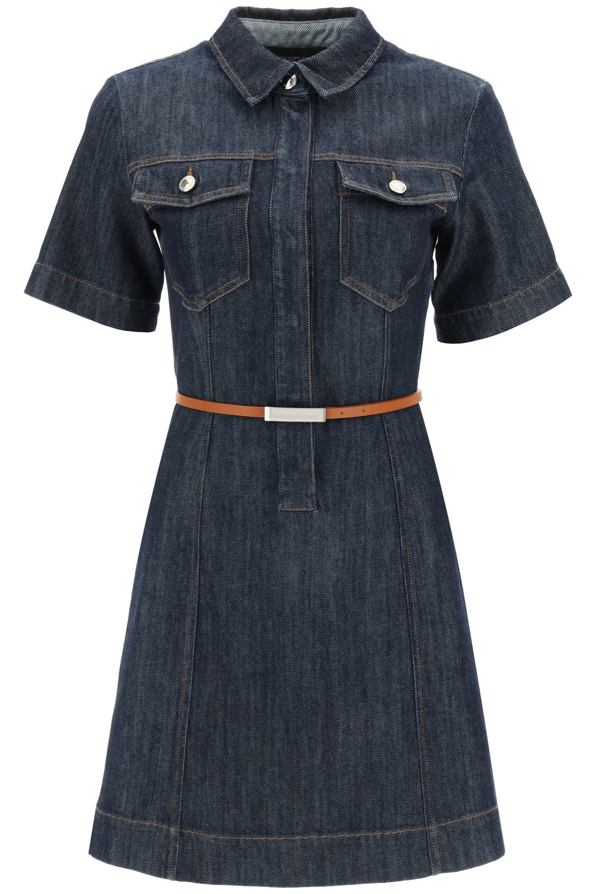 Sportmax DENIM MINI DRESS