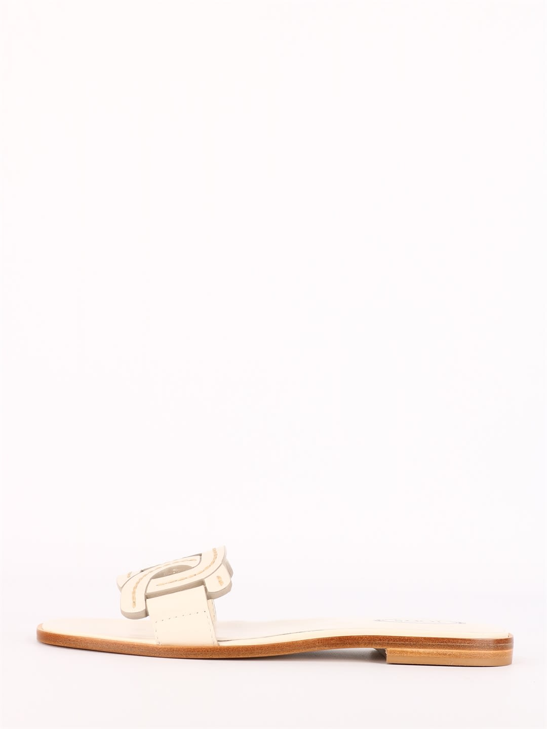 Tod's Leathers CHAIN LEATHER SANDAL