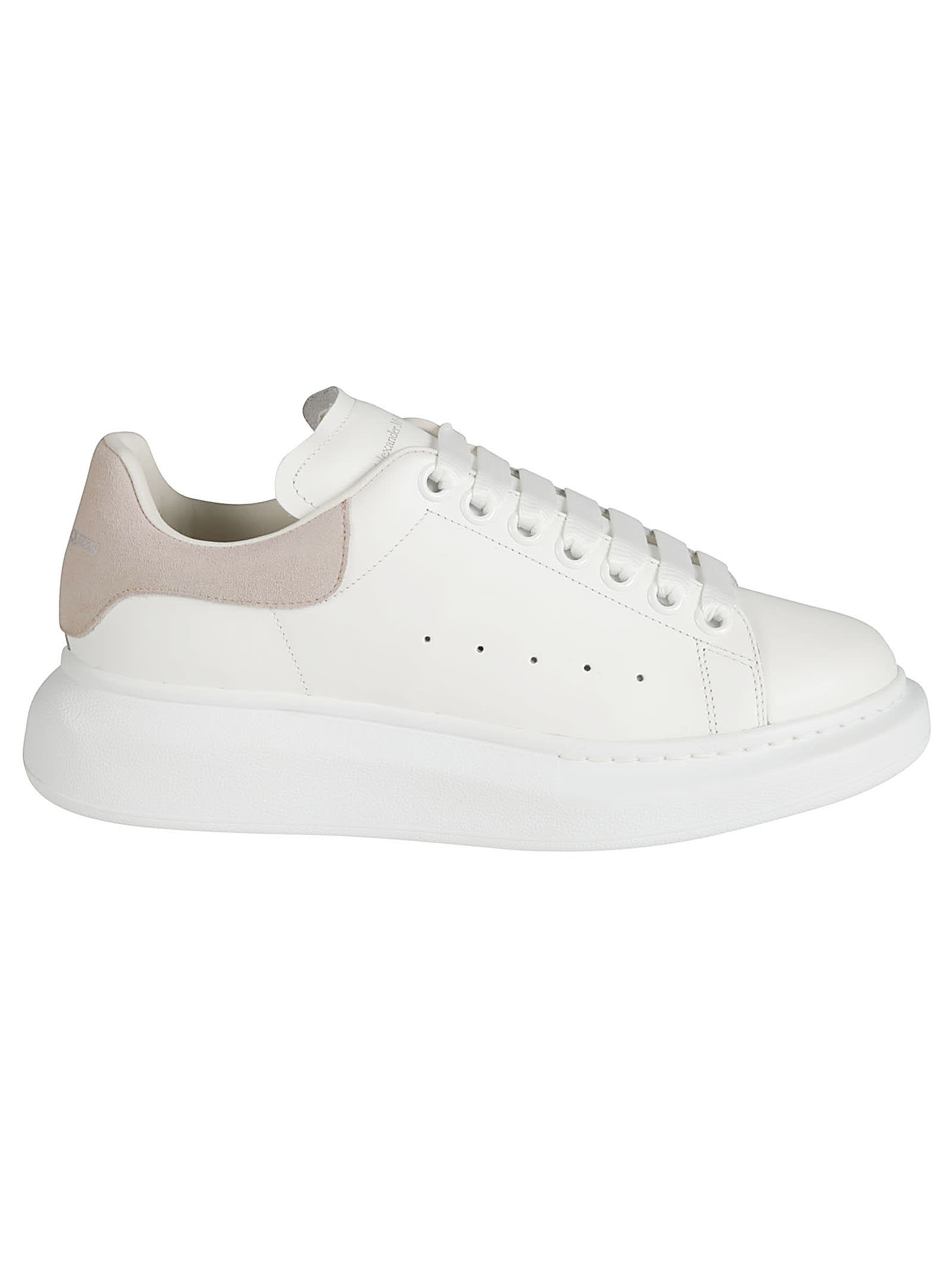 Buy Alexander McQueen Classic Logo Sneakers online, shop Alexander McQueen shoes with free shipping