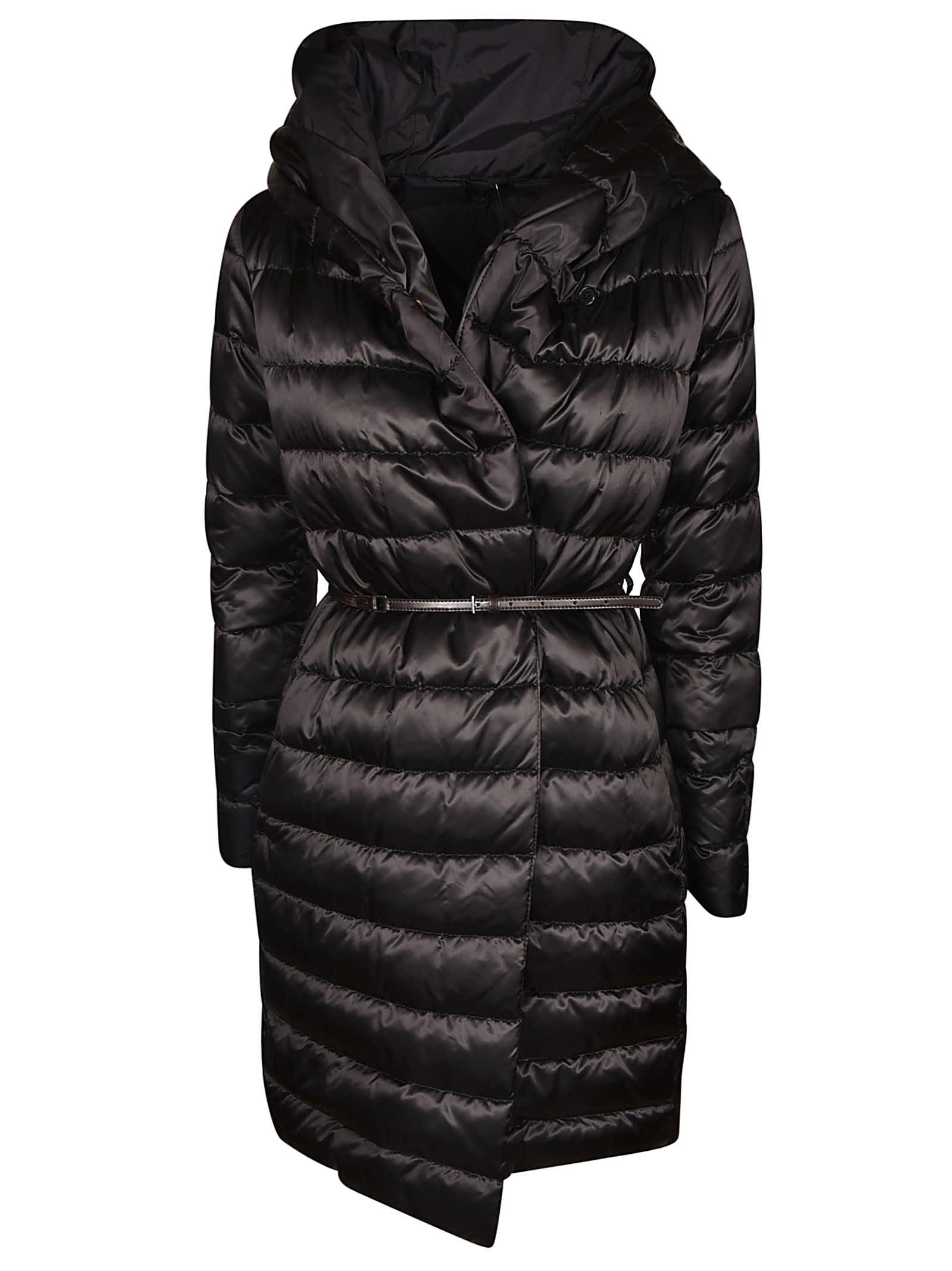 Max Mara Padded Hooded Coat