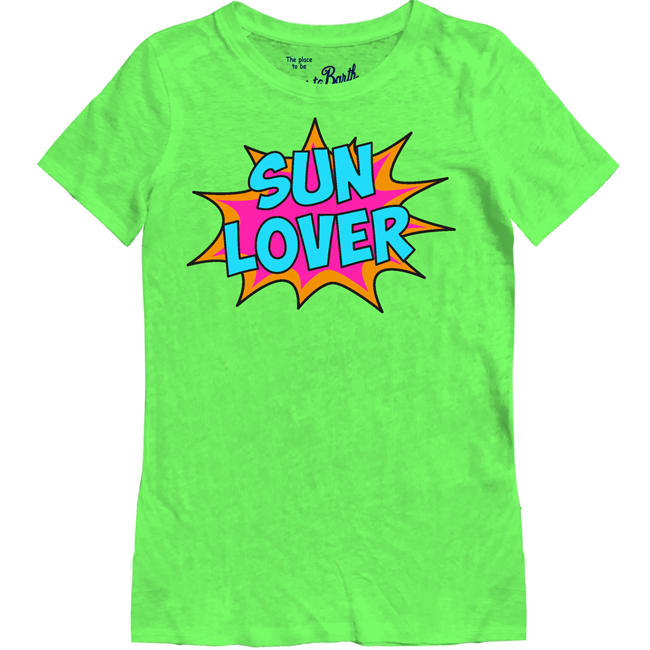 Sun Lover Print T-shirts For Women