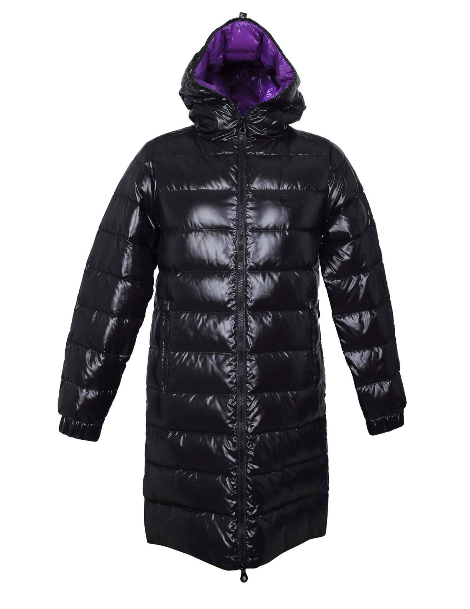 Tyldue Down Jacket In Black Nylon