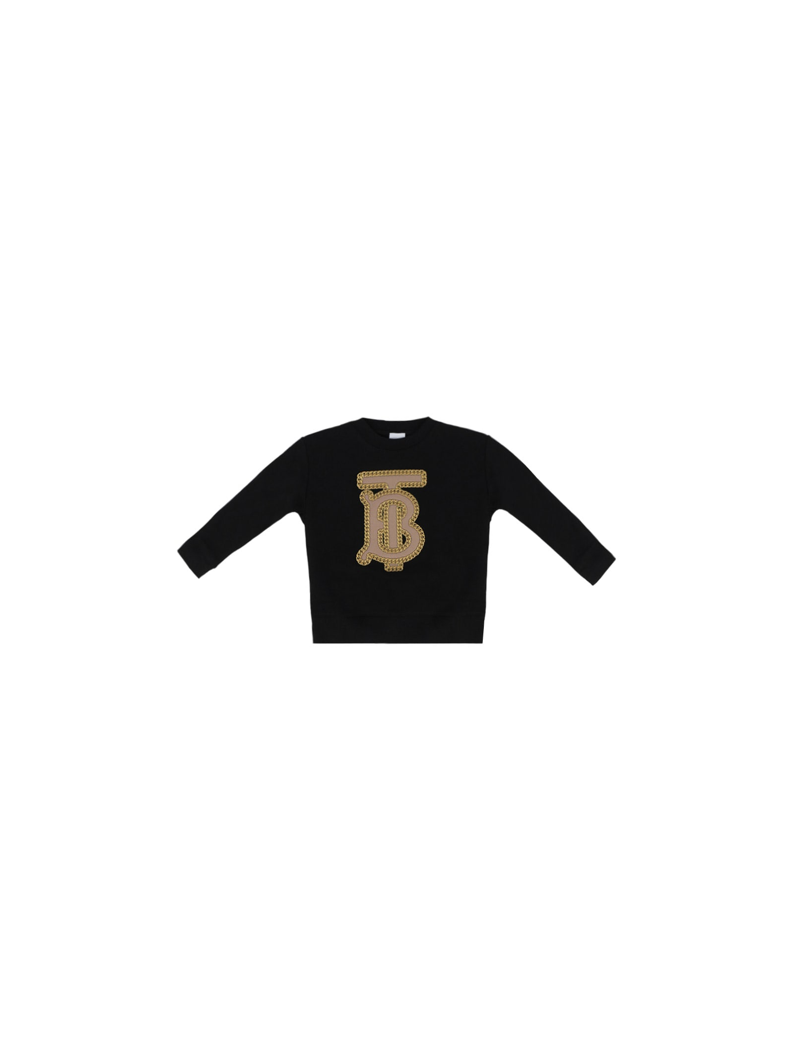 Burberry Kids' Sweatshirt For Boy In Black