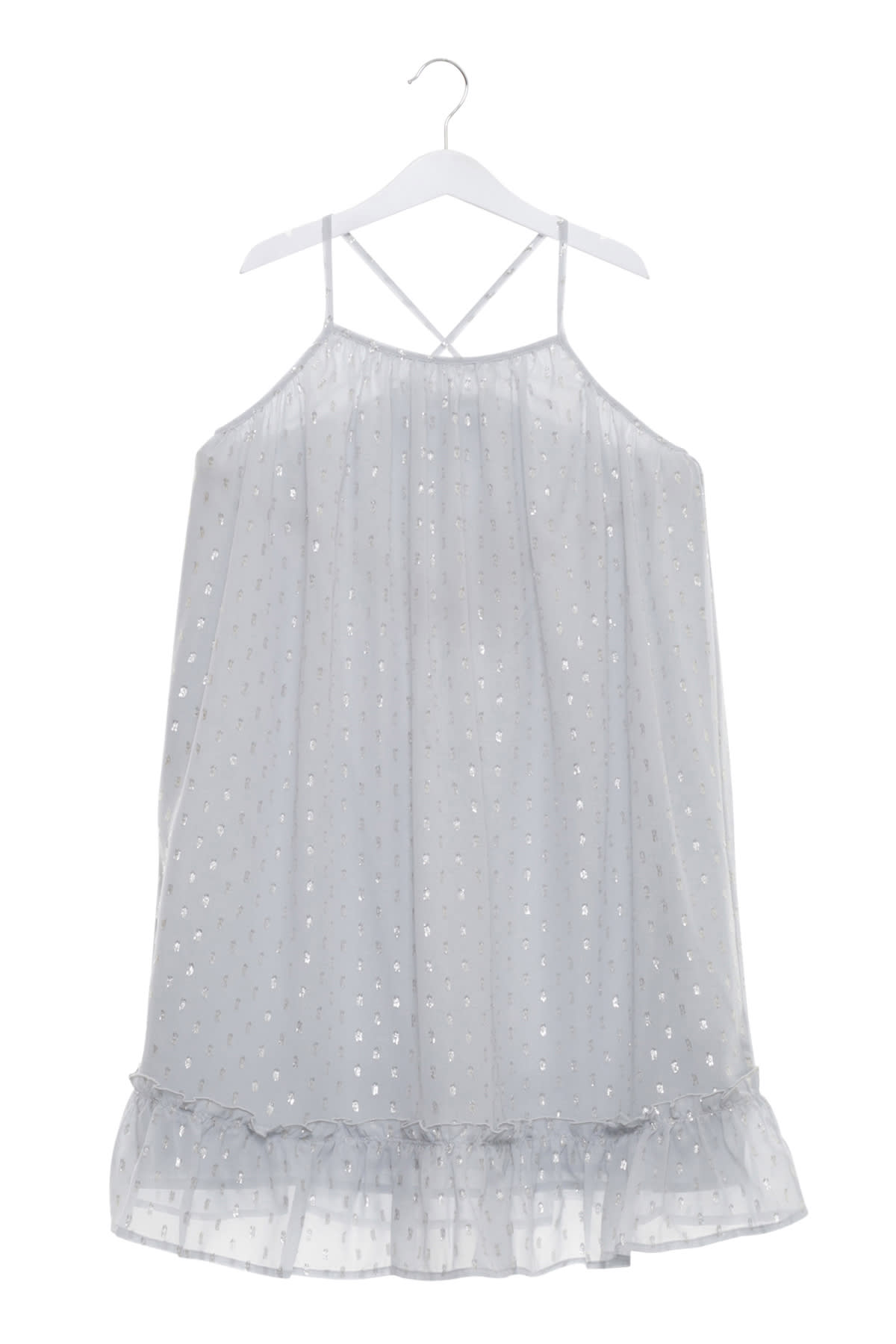 Stella McCartney Flocked Tulle Dress