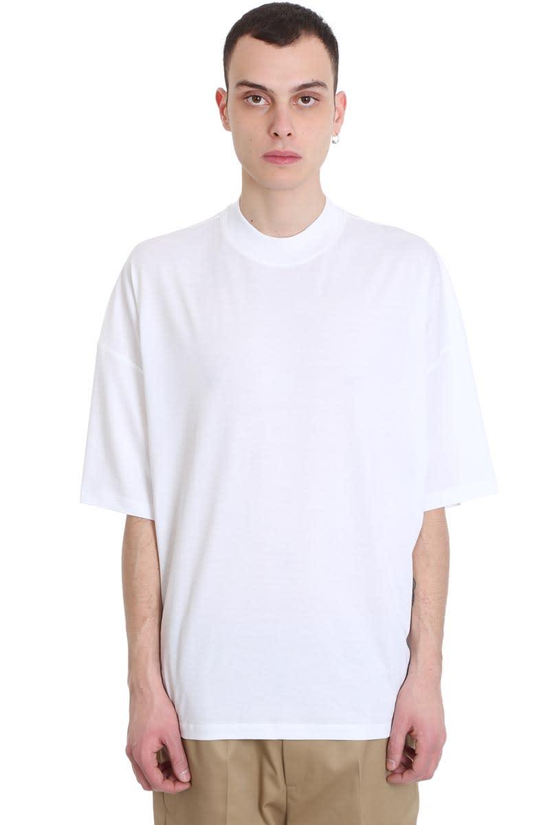 Jil Sander T-shirt In White Cotton
