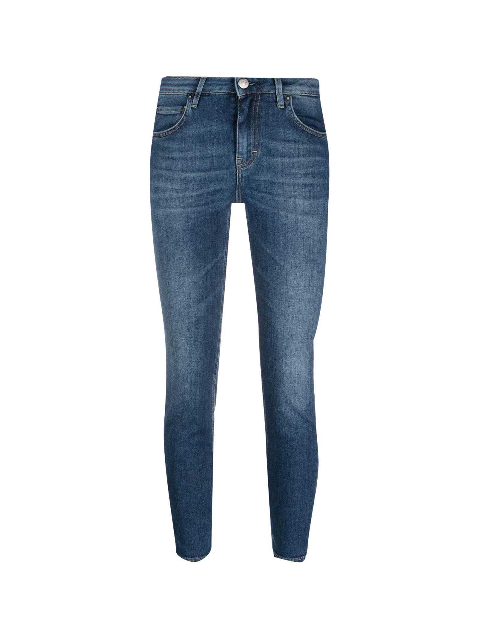 Haikure Jeans LOW-RISE CROPPED JEANS