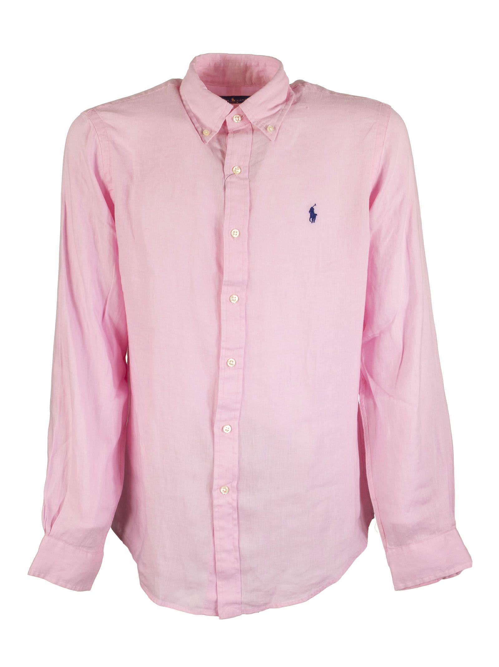 Ralph Lauren Slim Fit Linen Shirt