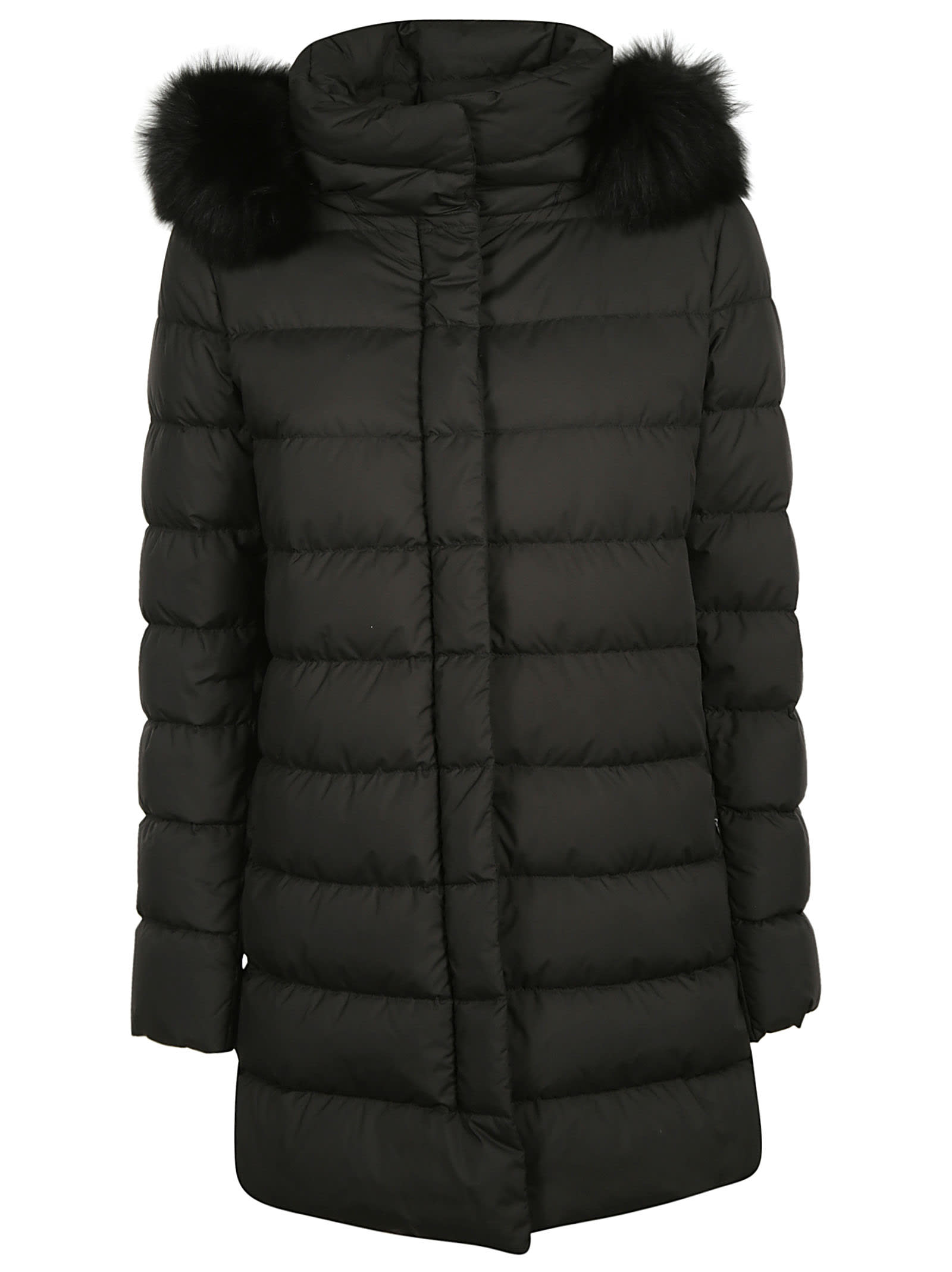 Herno Furry Collar Concealed Padded Parka