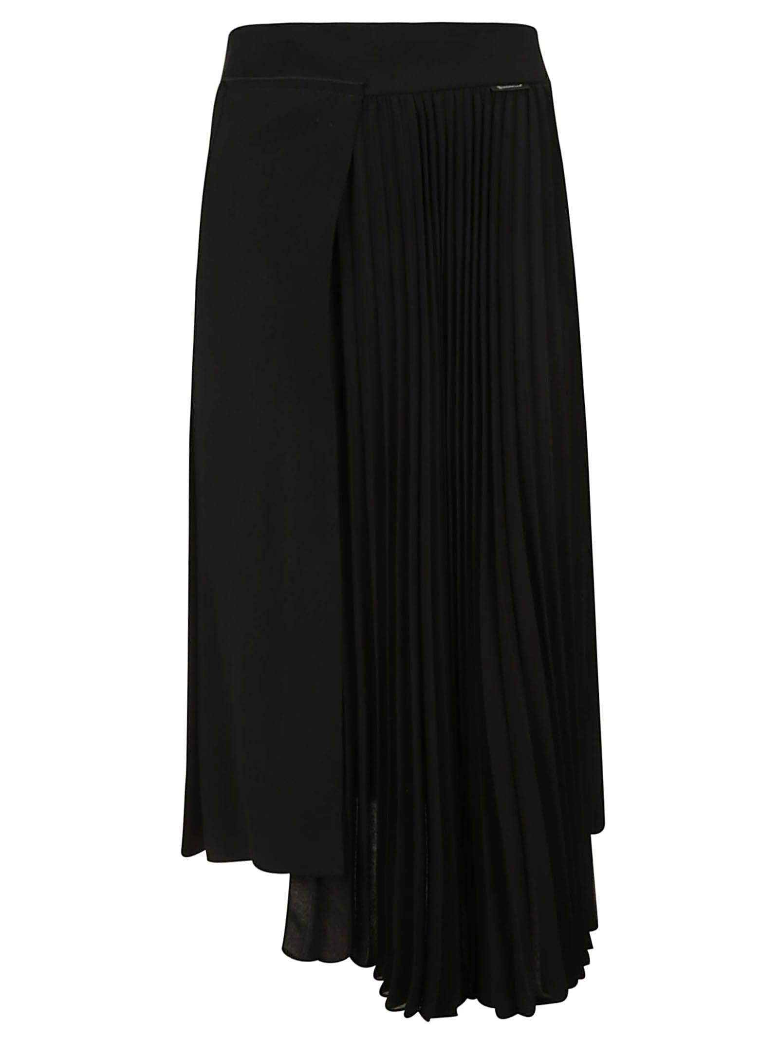 Moncler Long Pleated Skirt